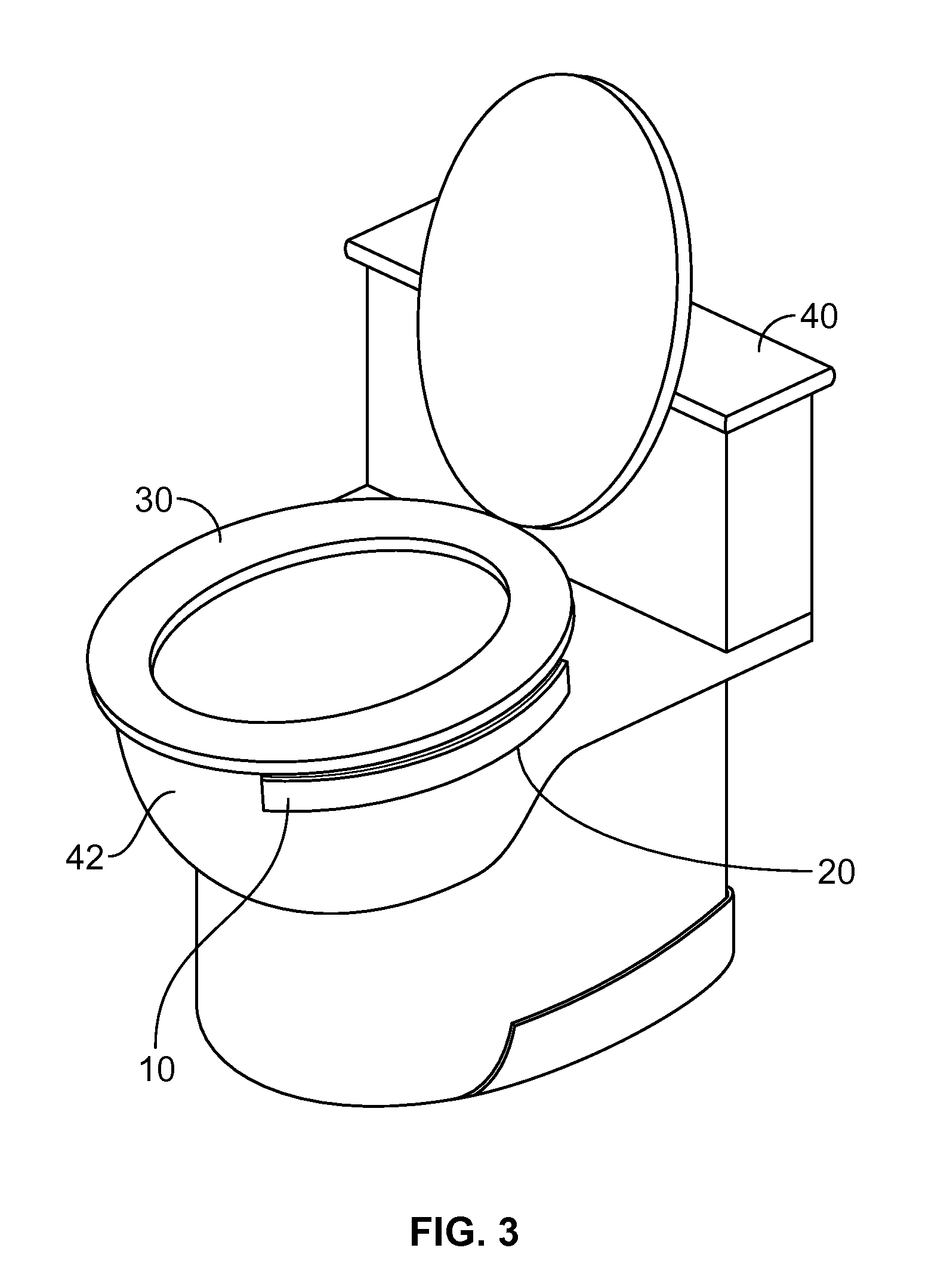 patent us20130019389 toilet seat securing device google patents. Black Bedroom Furniture Sets. Home Design Ideas