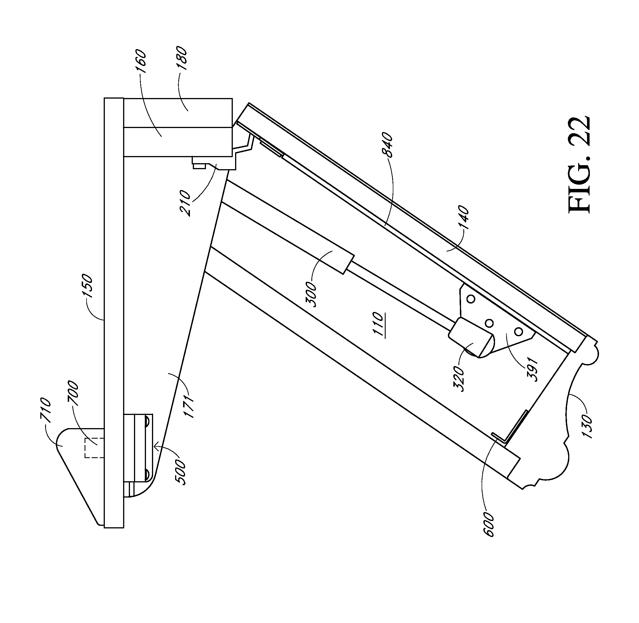 Patent US20130025510 - Shelf with secret compartment and hidden ...
