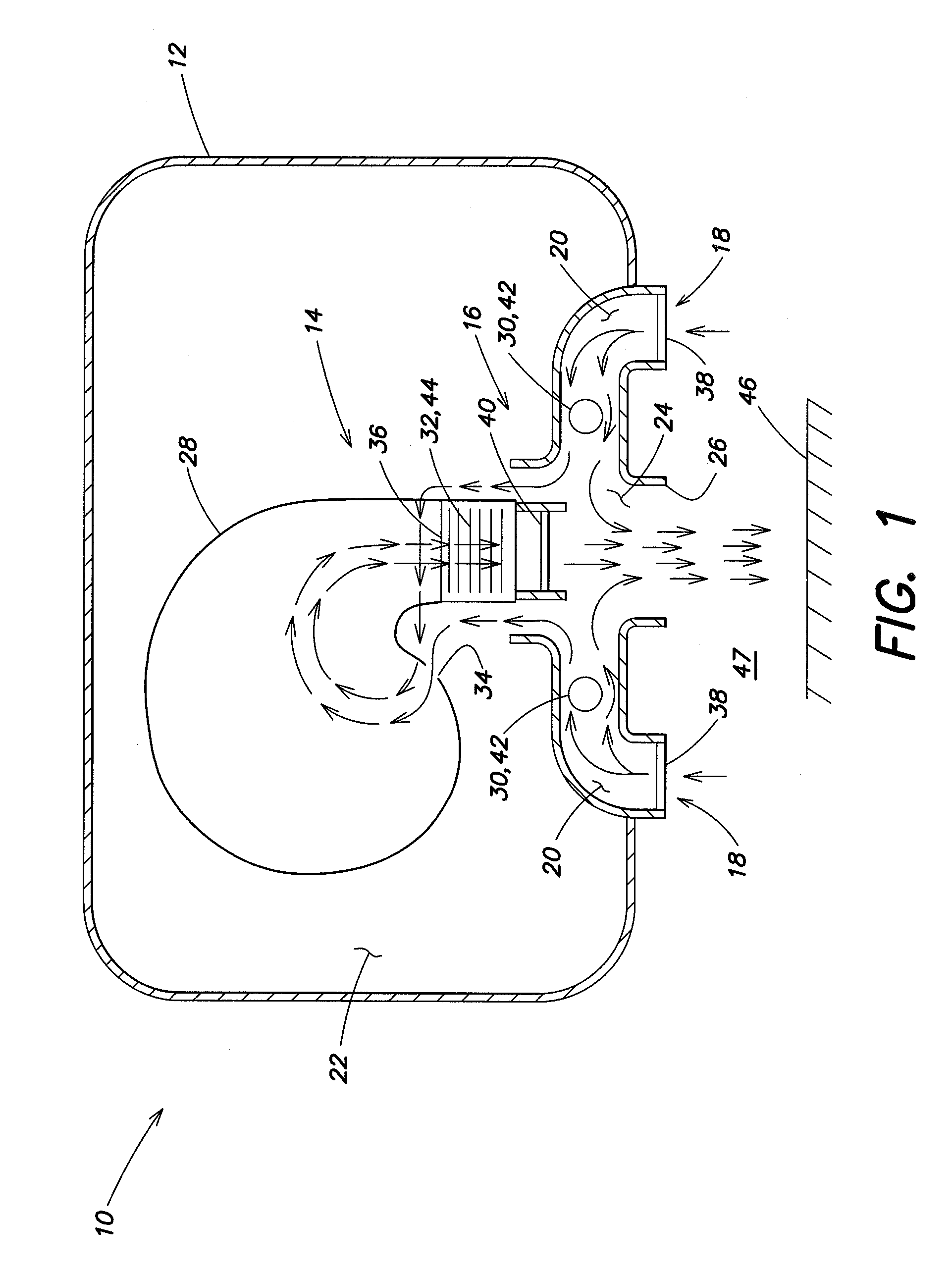 patent us20130031799 - sanitizing hand dryer