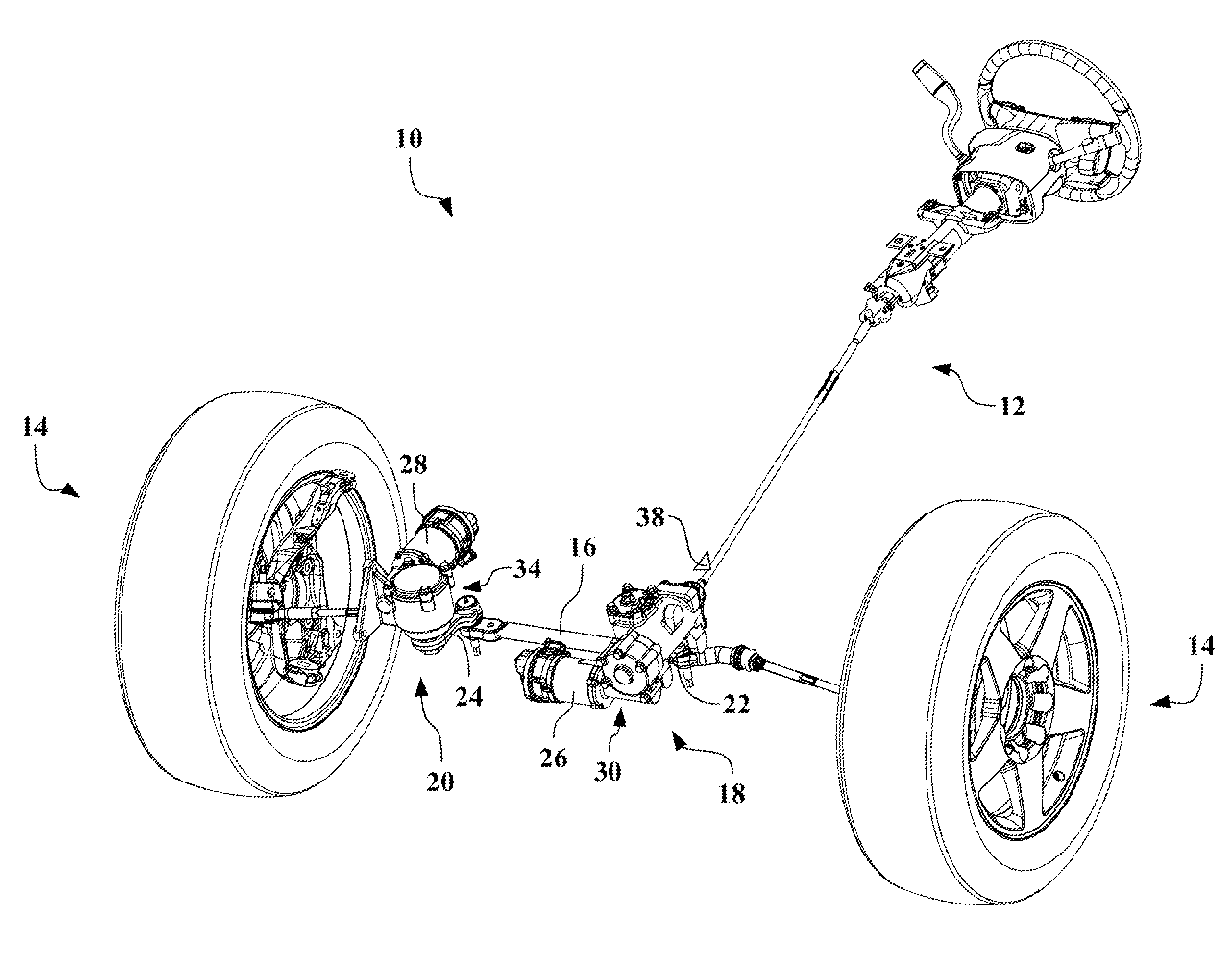 Patent Us20130032430 Electrically Assisted Parallelogram