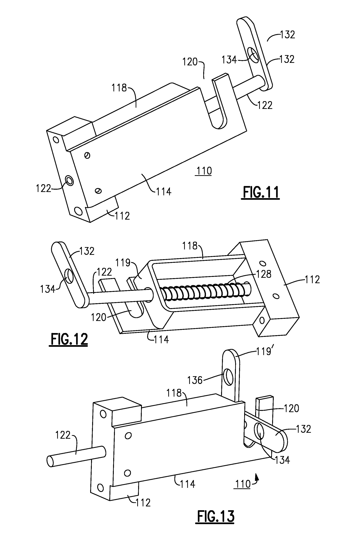 Patent Us20130056995 Sliding Pin Lock Mechanism For