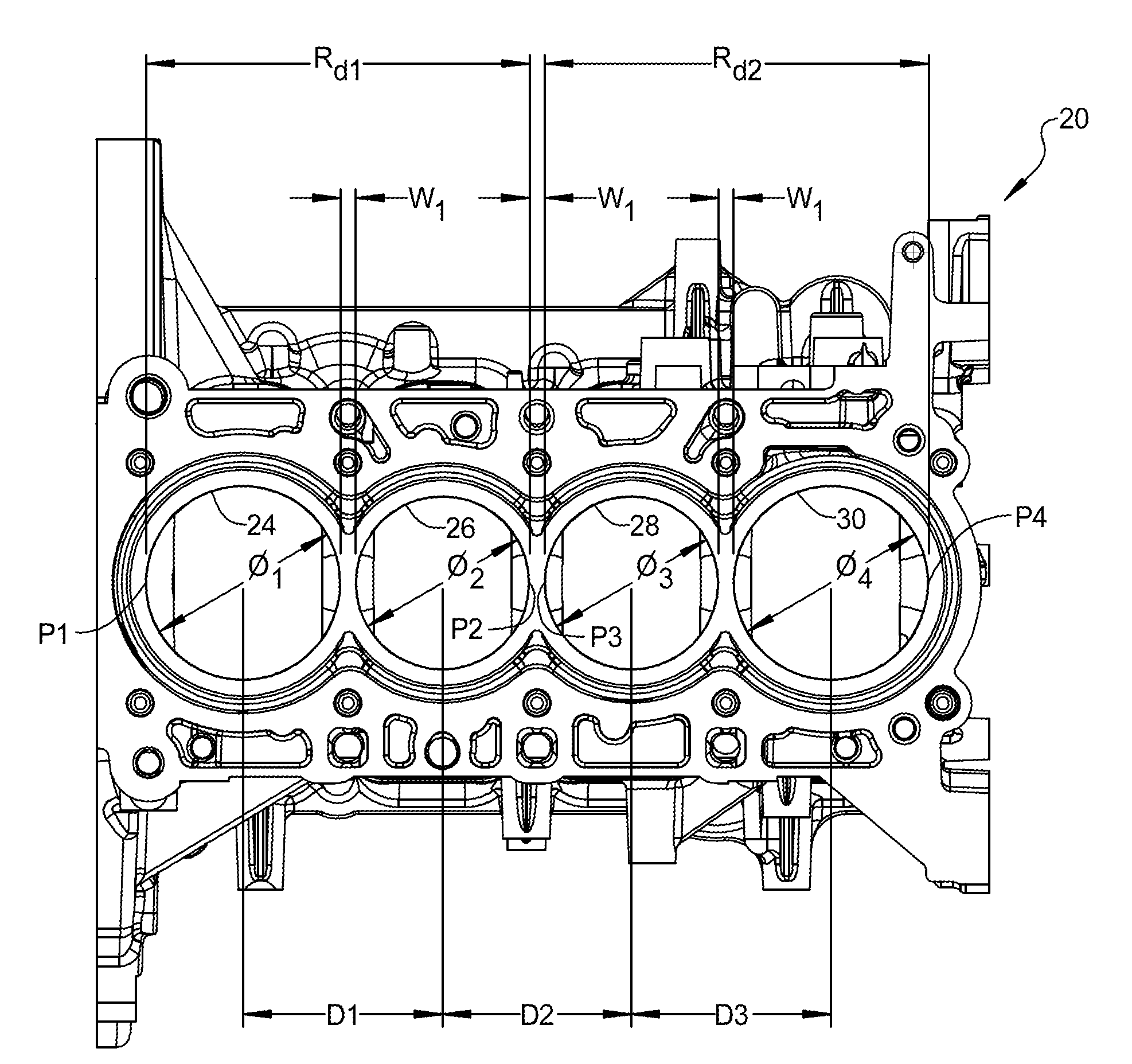 Patent US20130061823 - Engine assembly including multiple ...