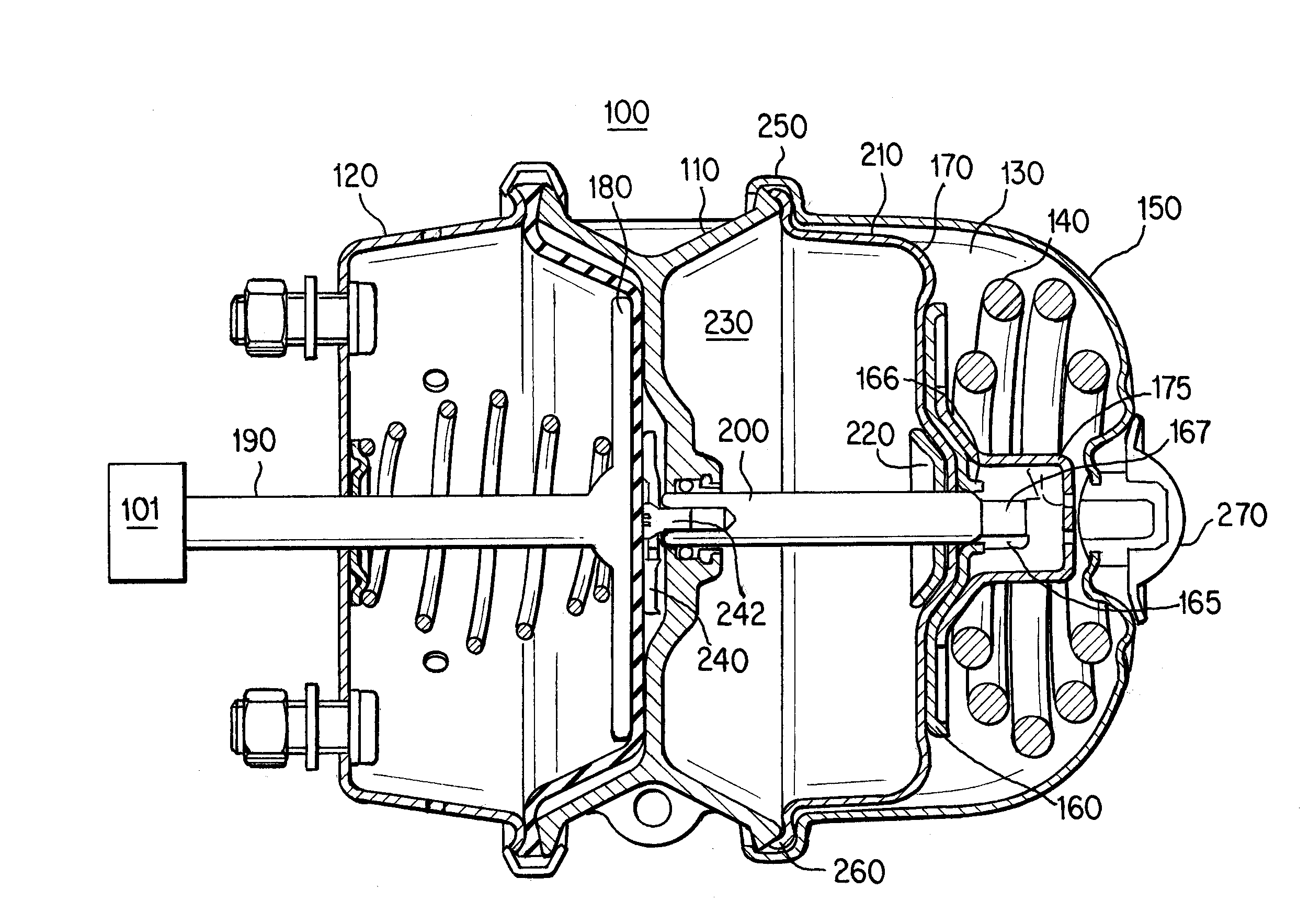 Brevet US20130075211 - Parking Brake Piston for a Parking