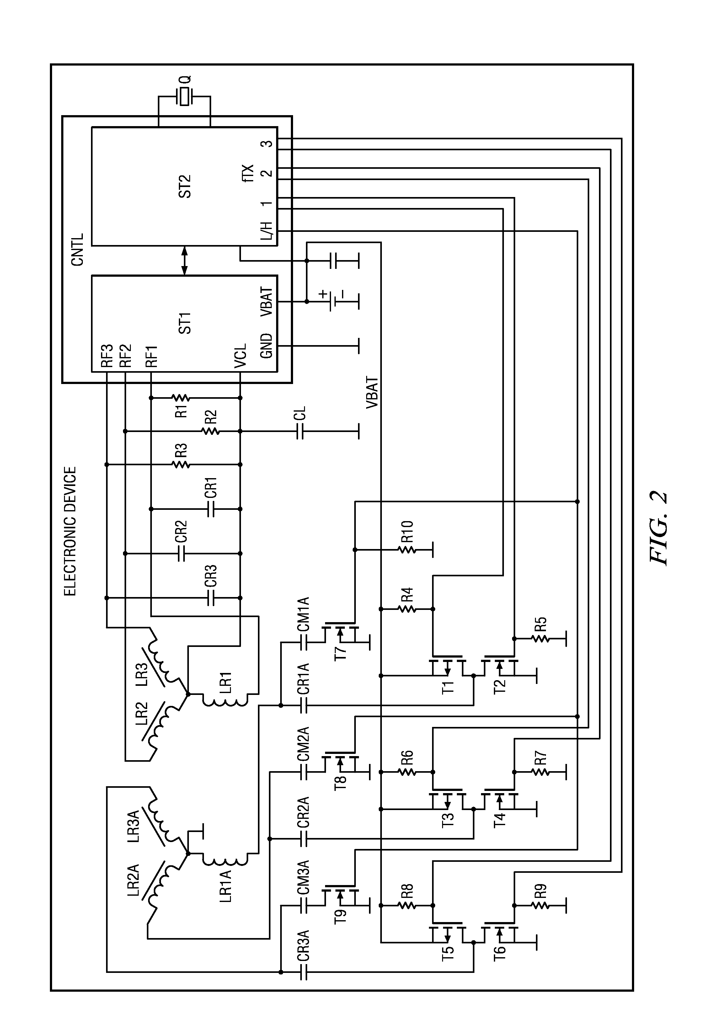 Patent Us20130107762 Electronic Device Method And System For Half Duplex Rfid Mini Transponders Drawing