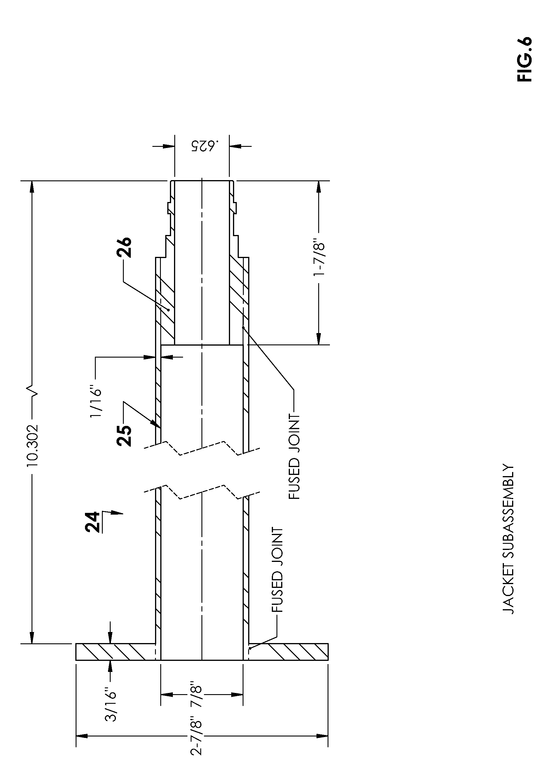 Patent us  ptfe jacketed tantalum tipped