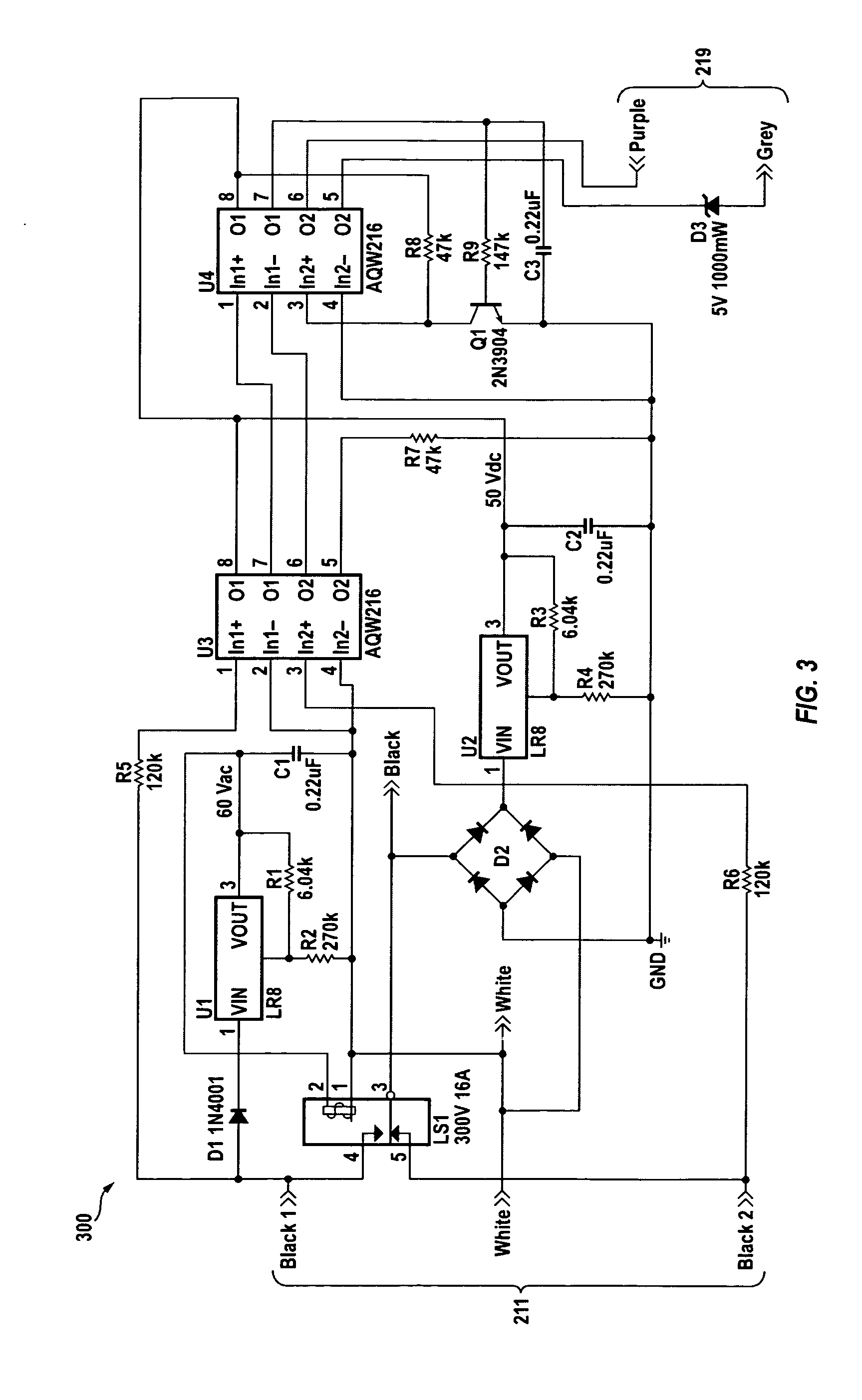 Patent Us20130119887 Bi Level Dimming Controller For Led