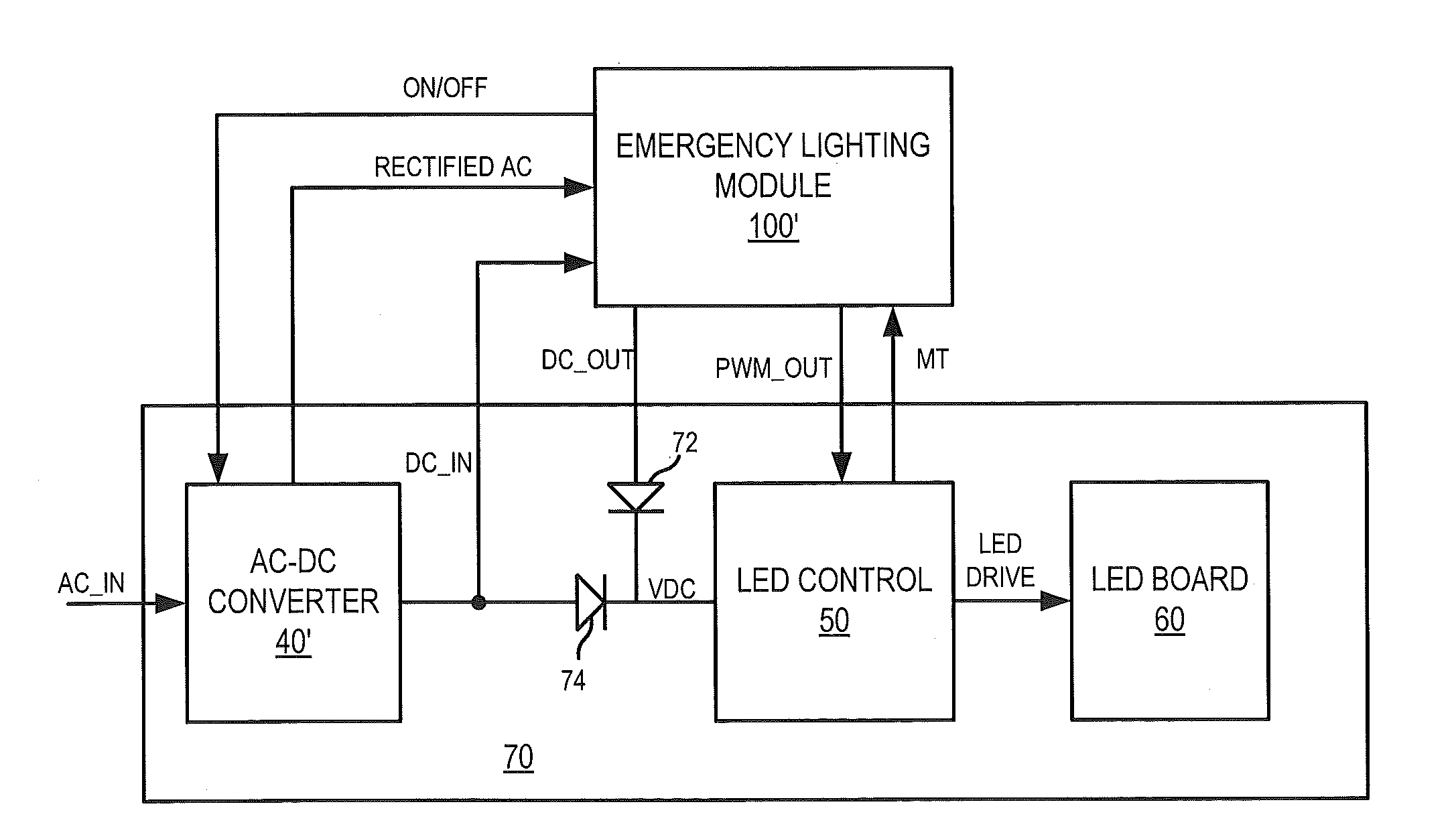 Patent Us20130147376 Emergency Lighting Systems Including Power Inverter Is Bidirectional Circuit Diagram Electronic Circuits Drawing
