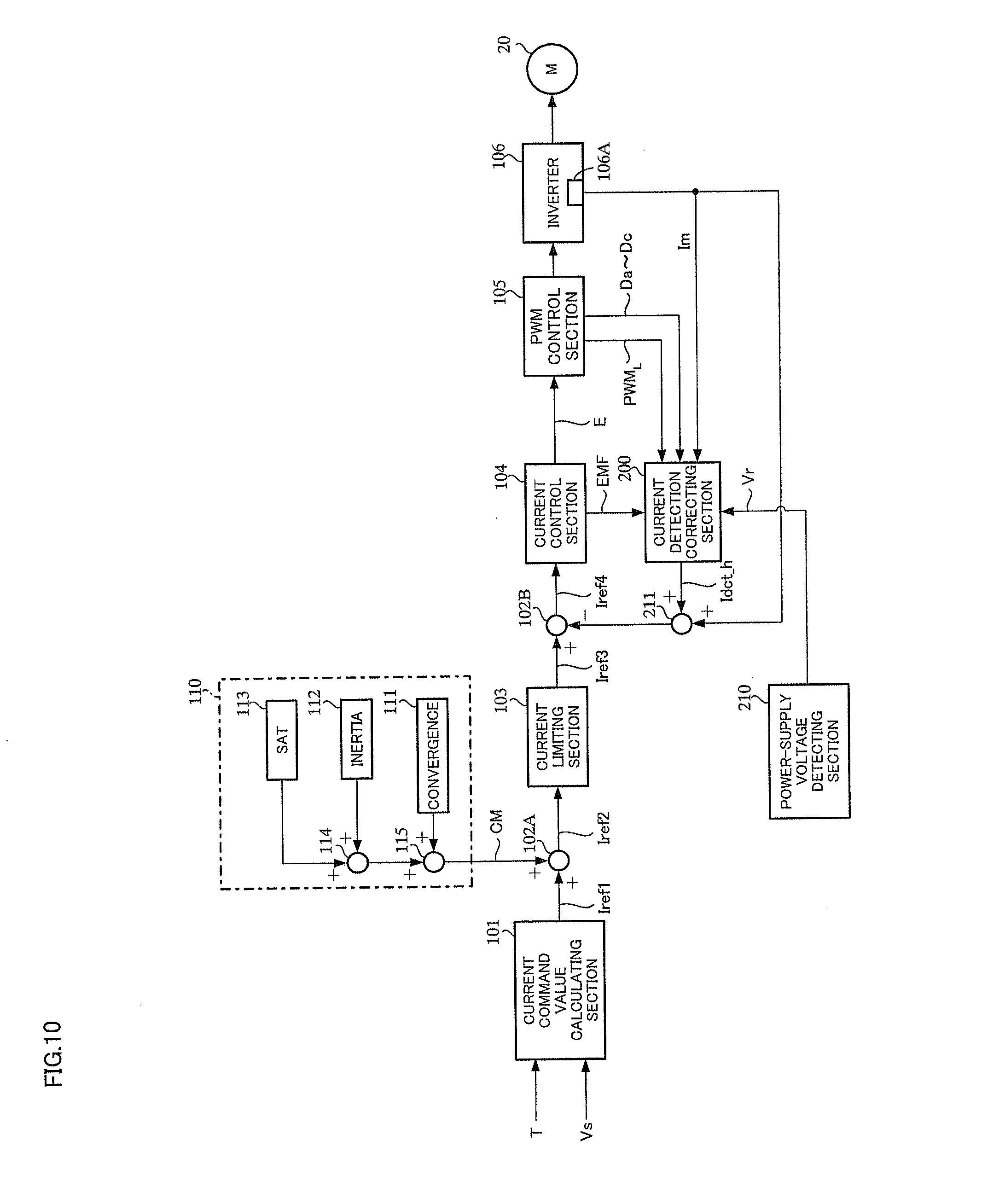 patent us20130158808 motor control apparatus and electric power Wiring Motor Control patent drawing