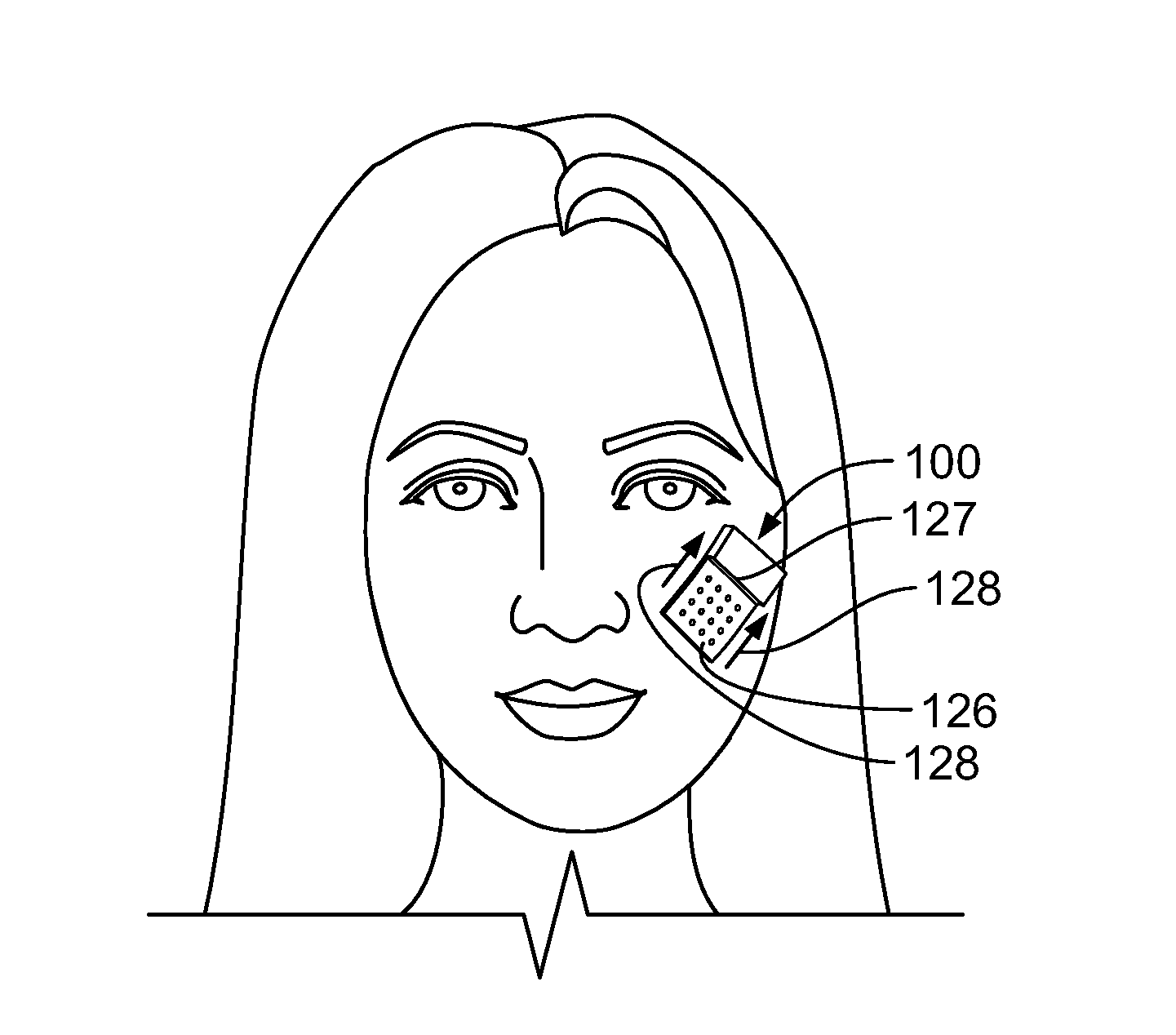 patent us20130190673 devices and methods for skin tightening Facial Sculpting Men patent drawing