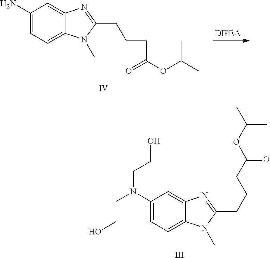 Patent US20130217888 - Process for preparing bendamus tine ...