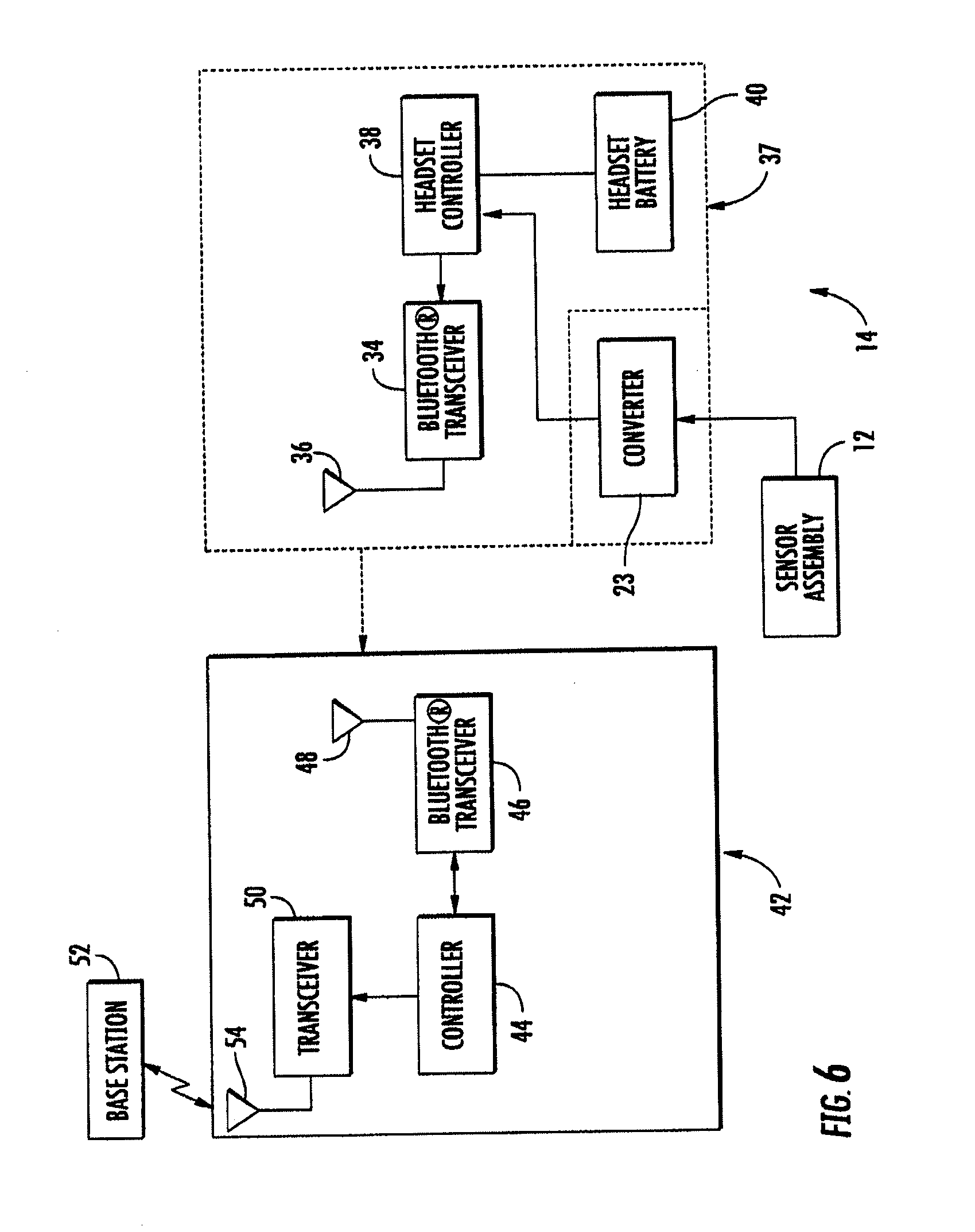 Patent Us20130331663 Heart Monitoring System Usable With A Bluetooth Transceiver Circuit Diagram Drawing
