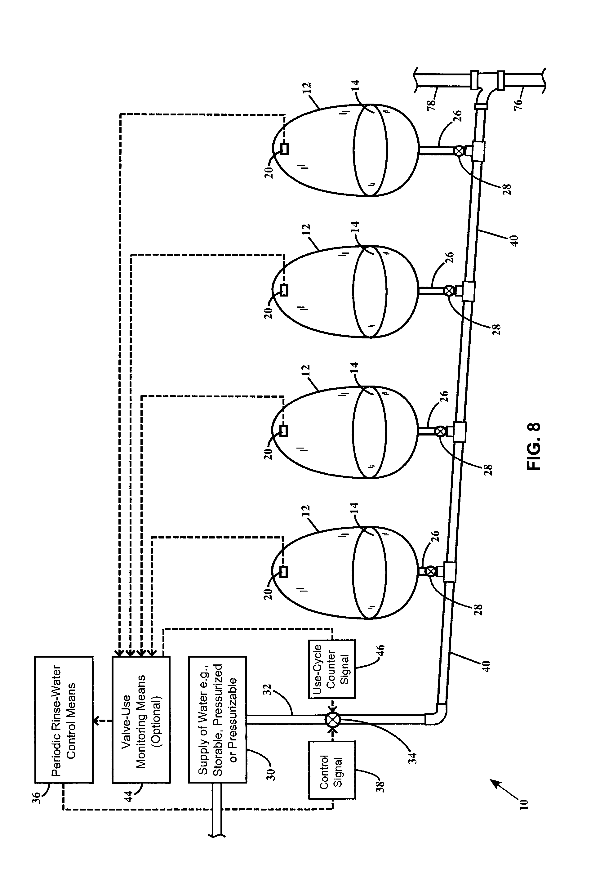 Patent Us20140020166 Valve Controllable Urinal Drain