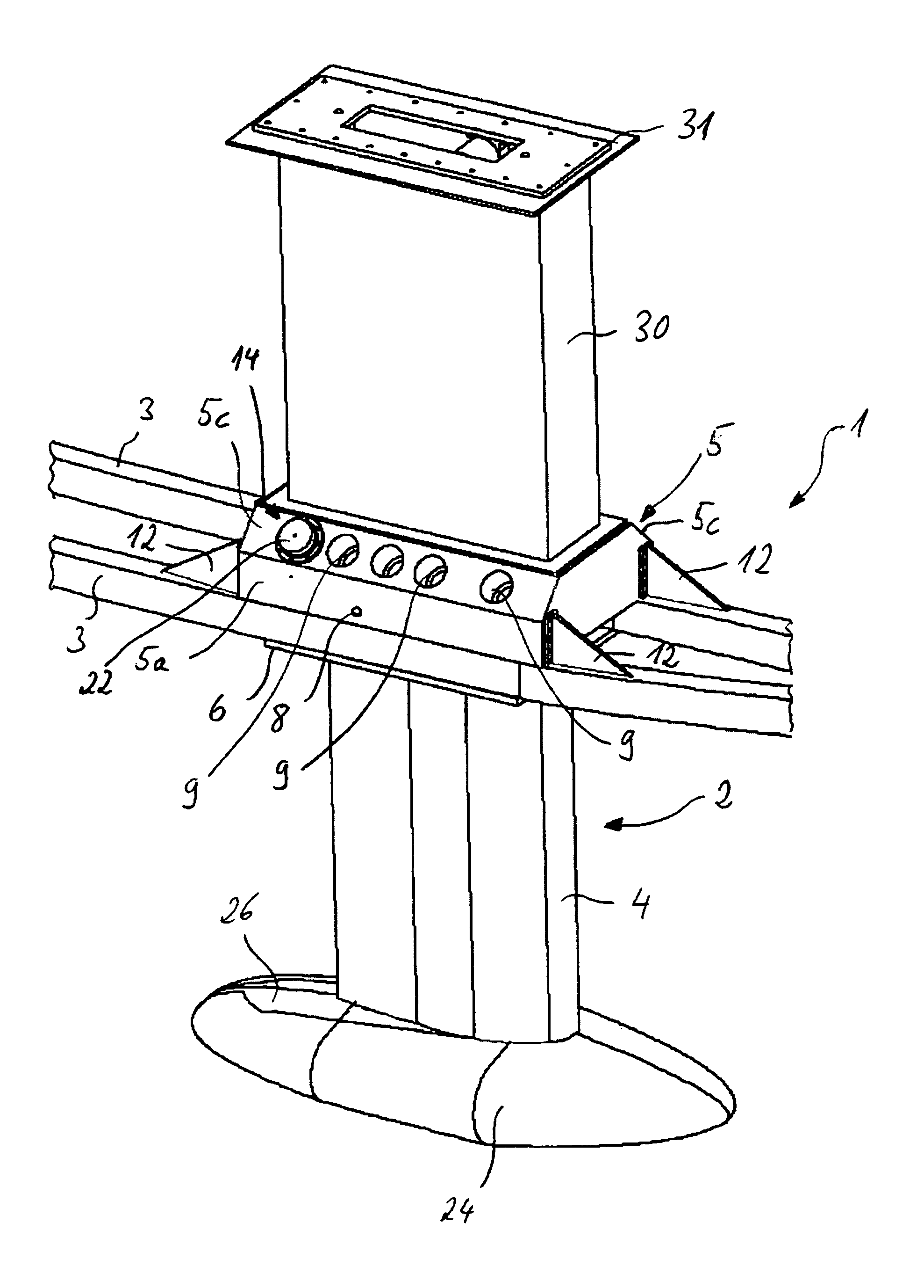 Patent Us20140026795 Retractable Keel Apparatus Google
