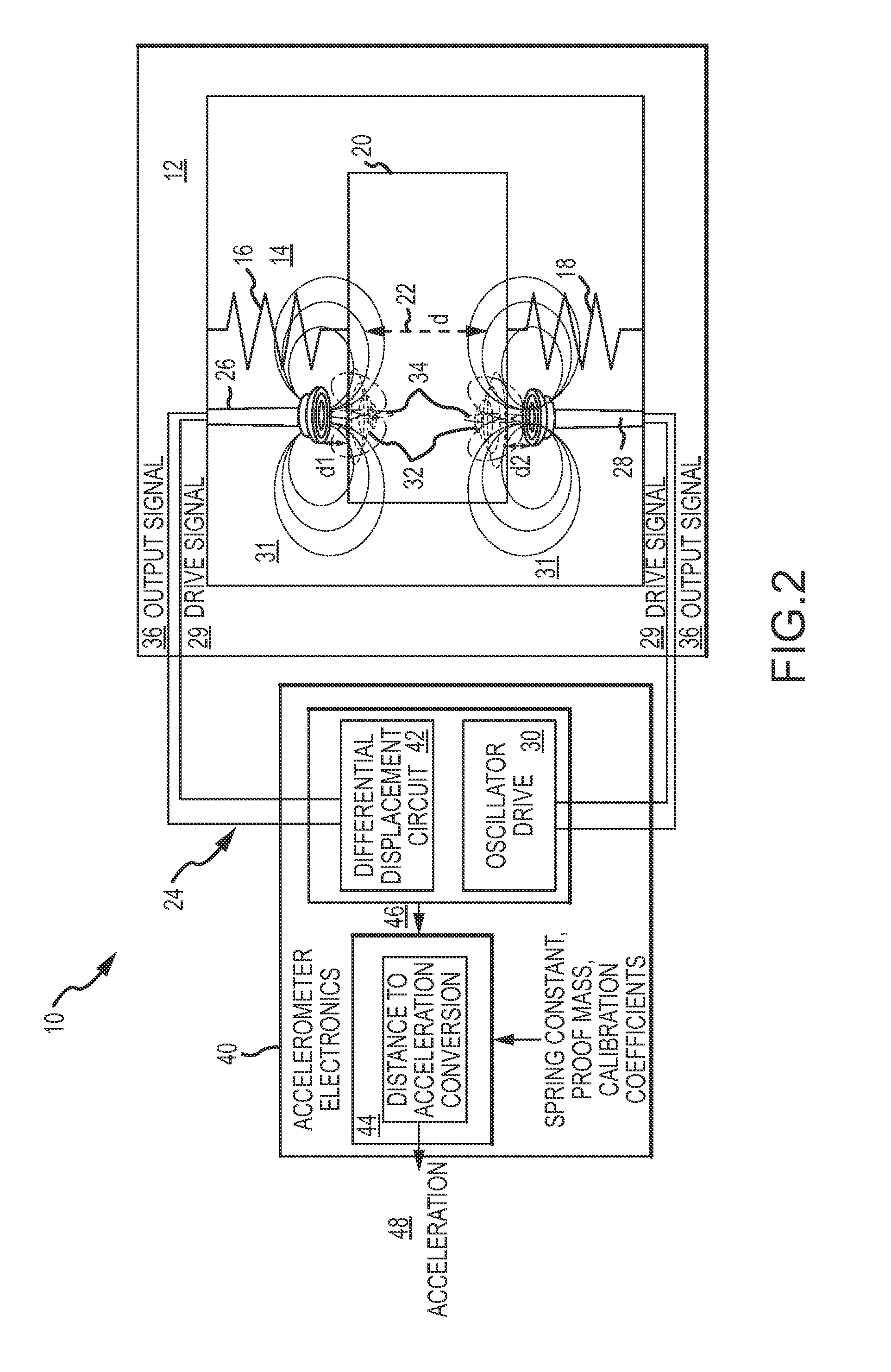 Patent US20140157897 - Hung Mass Accelerometer With Differential ...