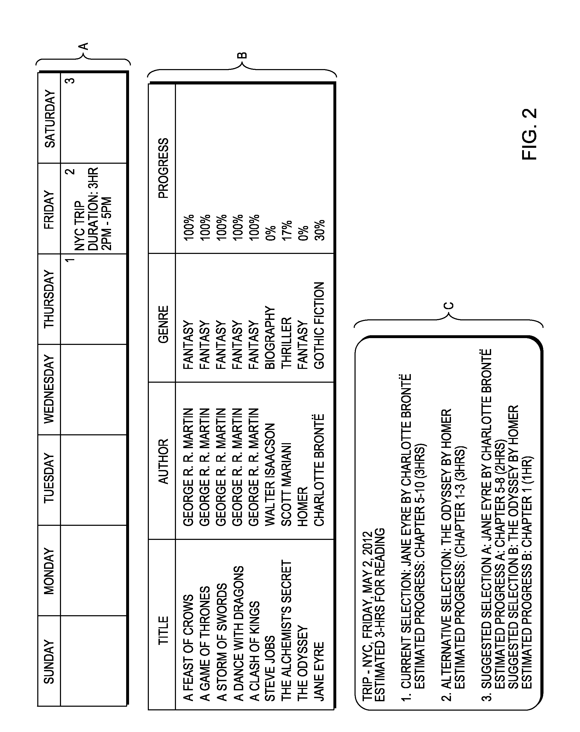 patent us20140181001 recommending electronic content based upon patent drawing