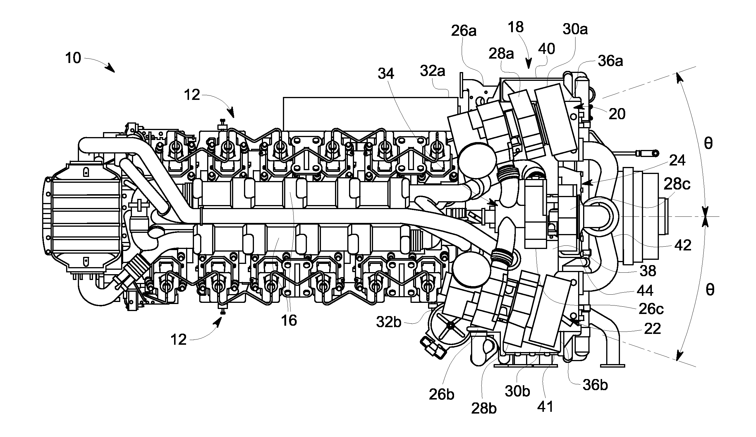 Patent Us20140182285 Charge Air Cooler Cover And Turbocharger 2001 Mitsubishi Montero Engine Diagram Drawing
