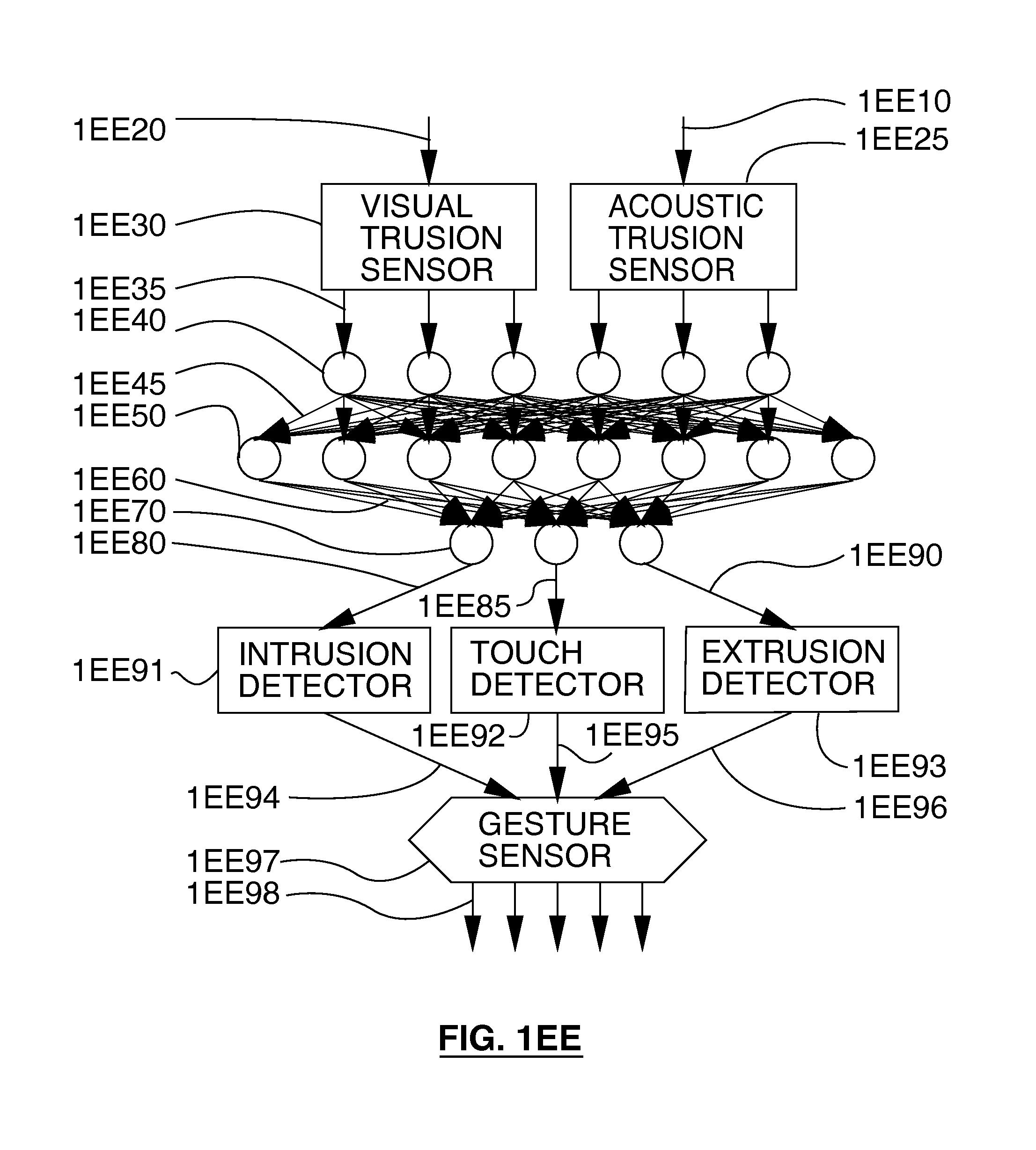 Patent US Extramissive spatial imaging digital eye