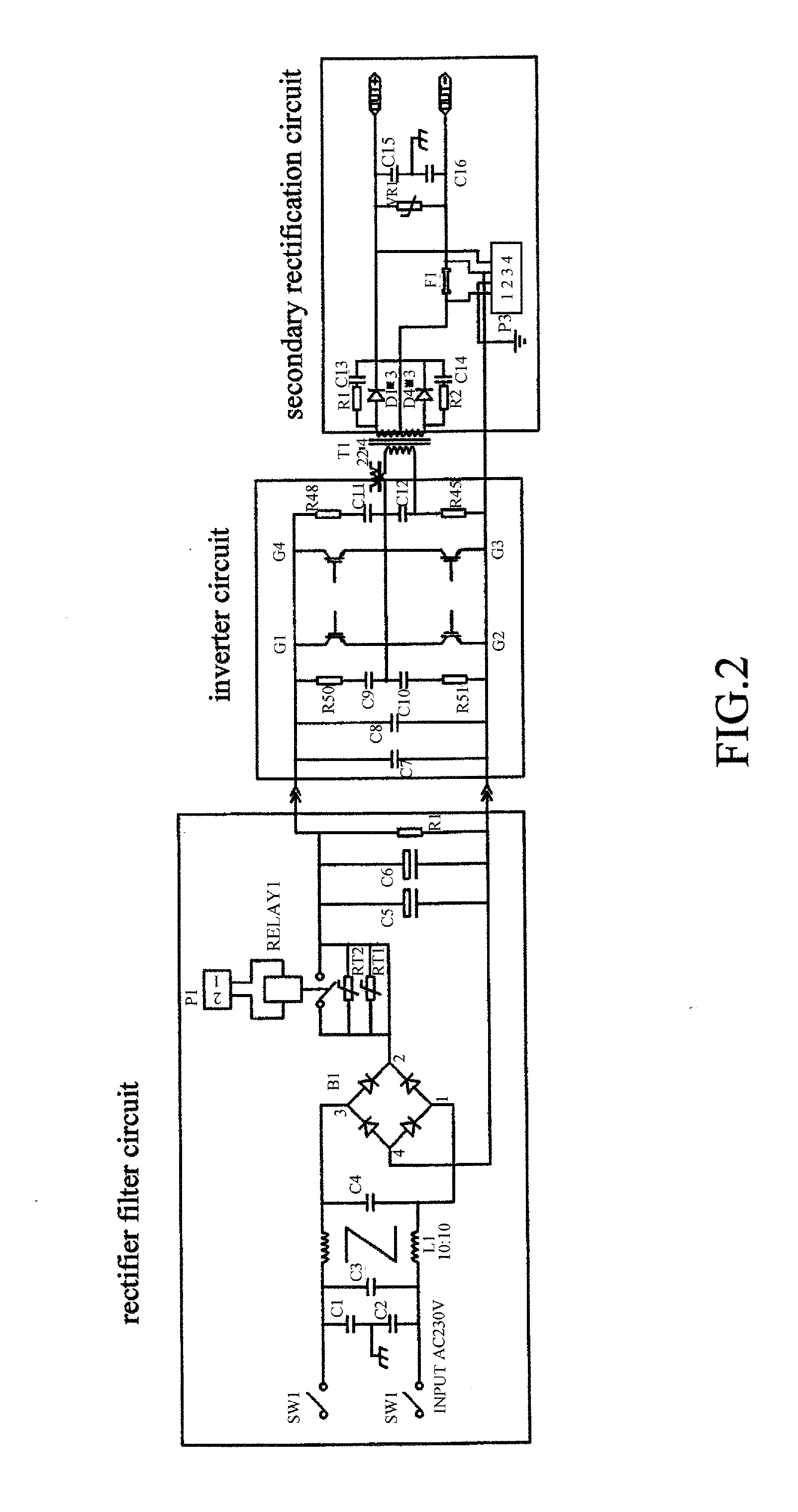 3 phase welding machine diagram inverter welding machine diagram patent us20140209586 - portable igbt arc welding machine ...