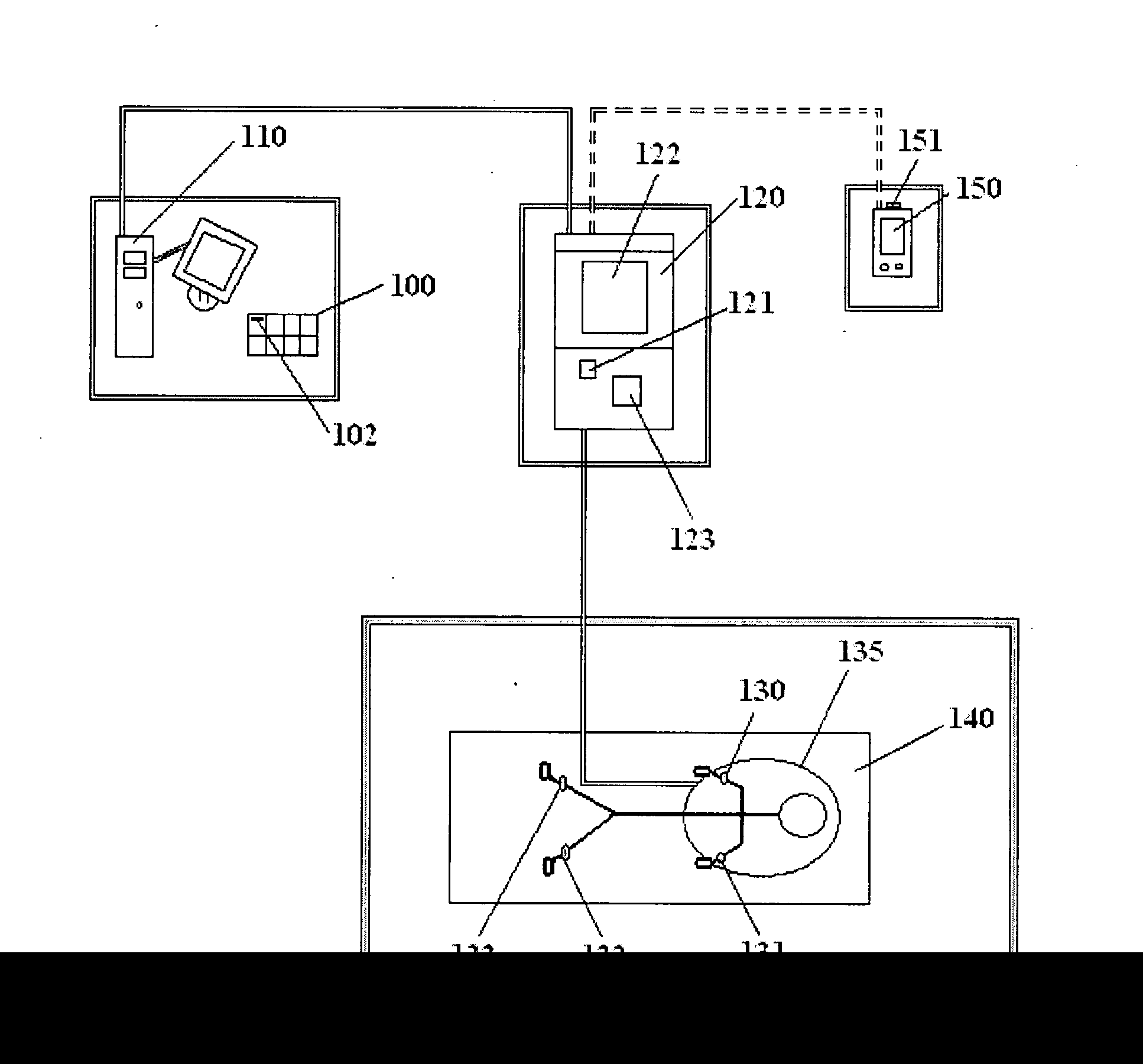 Patent Us20150048949 Healthcare Workstations And Rfid Devices For Other Circuits Gt Keypad Combination Lock Circuit Drawing