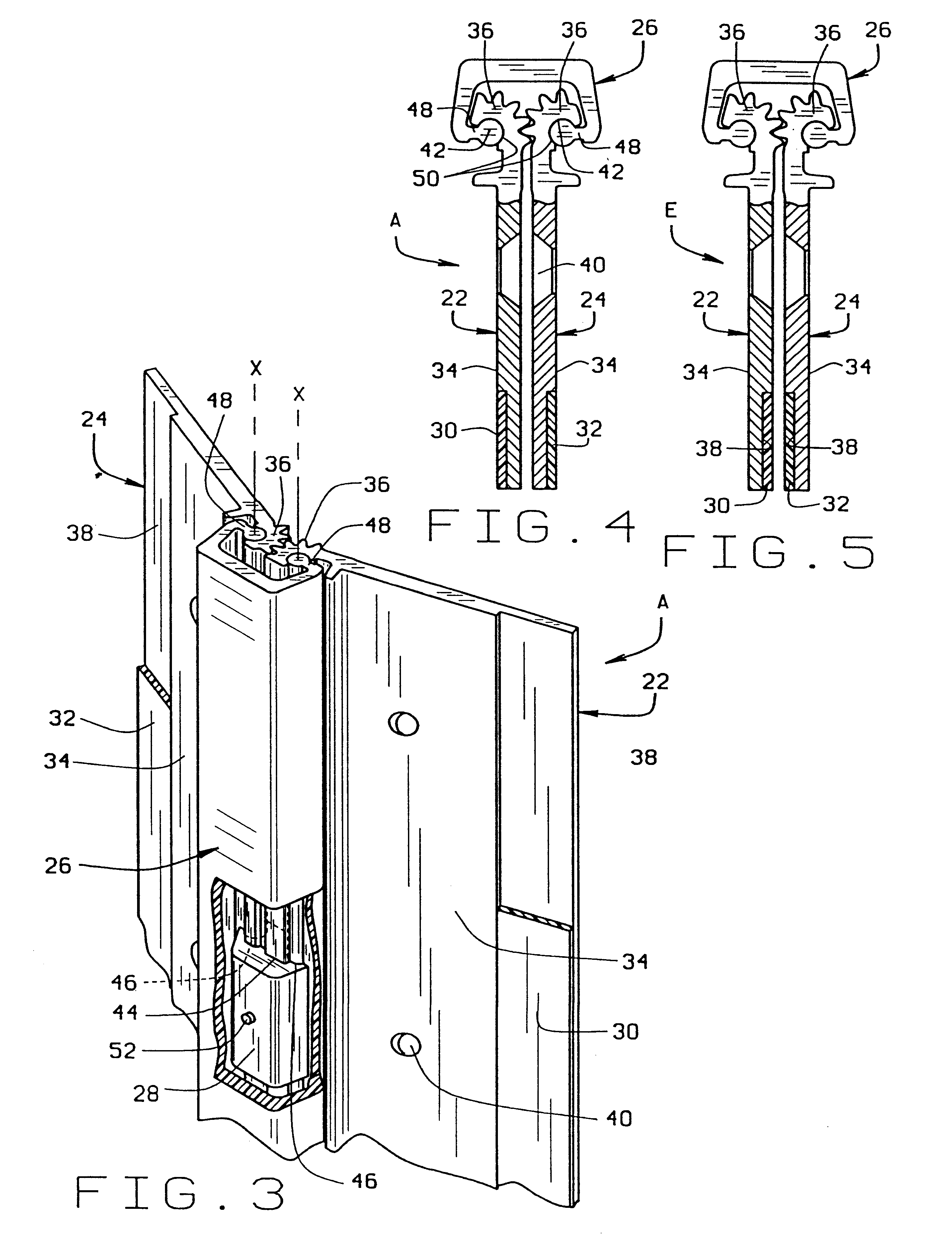 Patent Us6170210 Continuous Gear Hinge With Intumescent