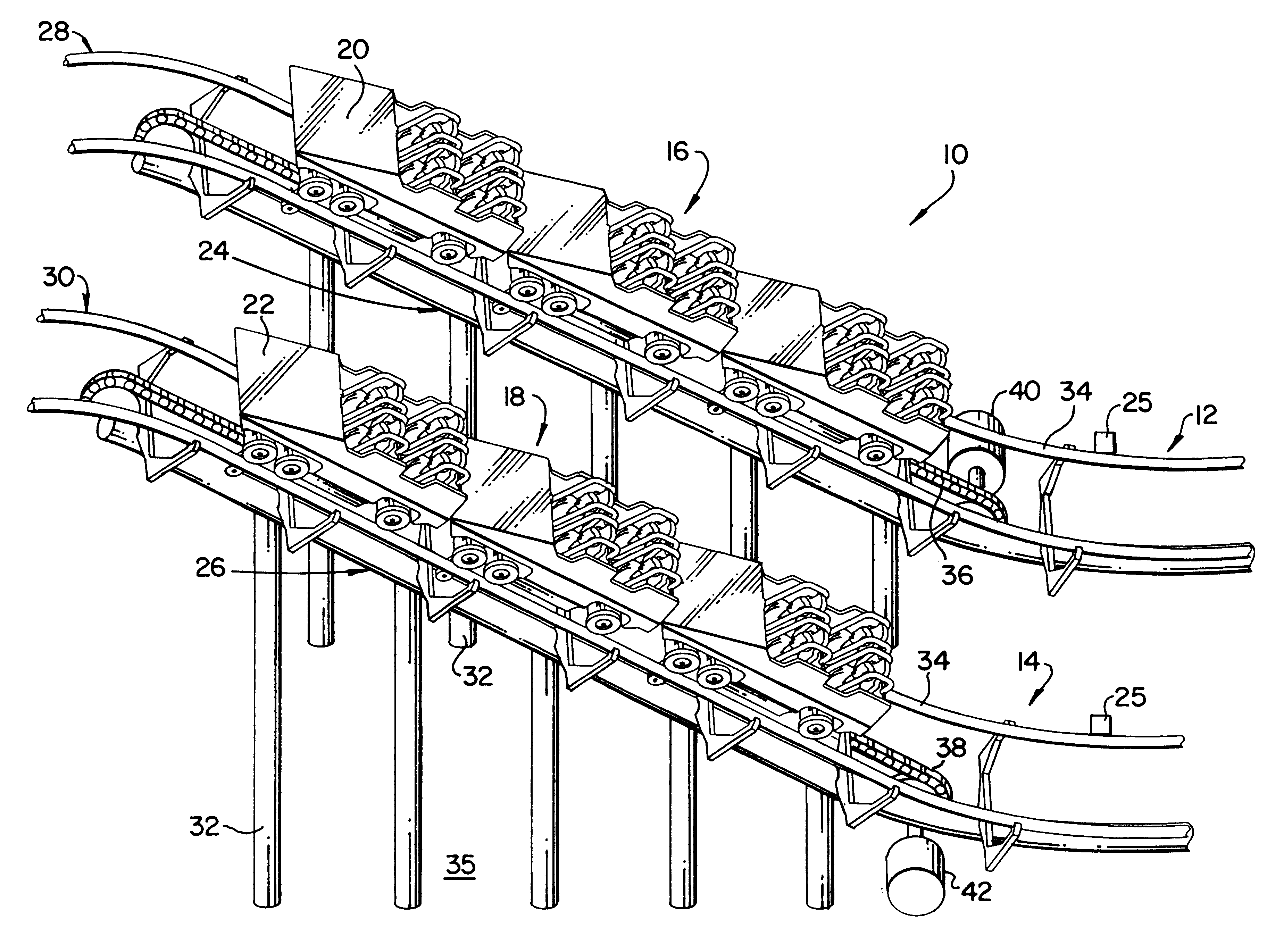Linear Synchronous Motor Roller Coaster Rollercoaster Diagram Patent Us6170402 Control System Google Patents