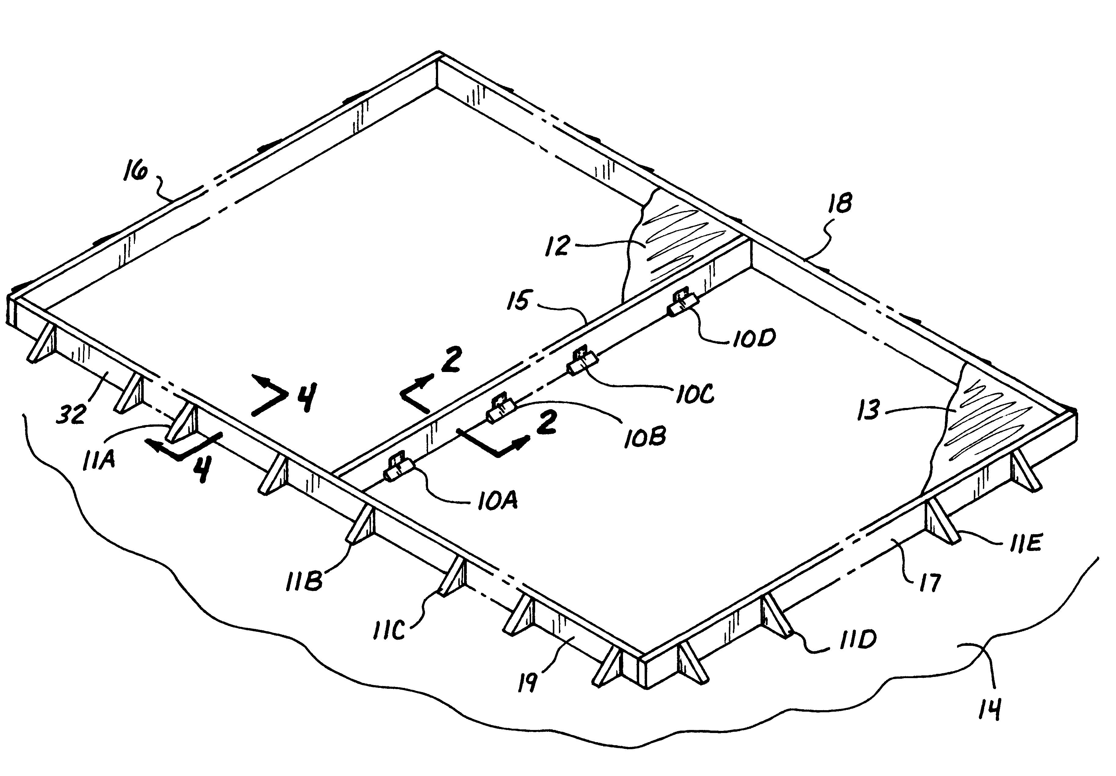 Patent Us6182416 Tilt Up Wall Panel Construction Method