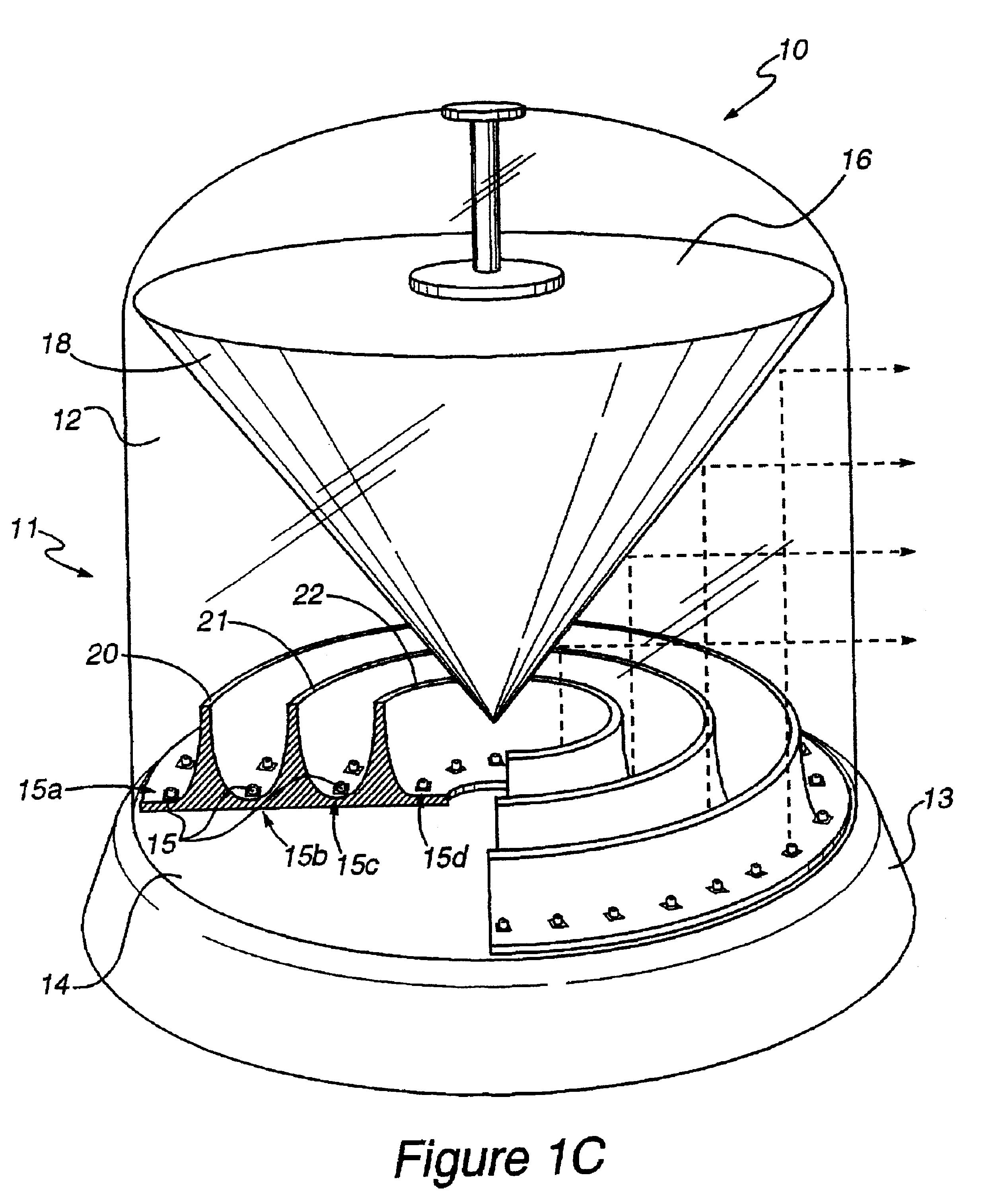 patent us6183100 - light emitting diode 360 u00b0 warning lamp