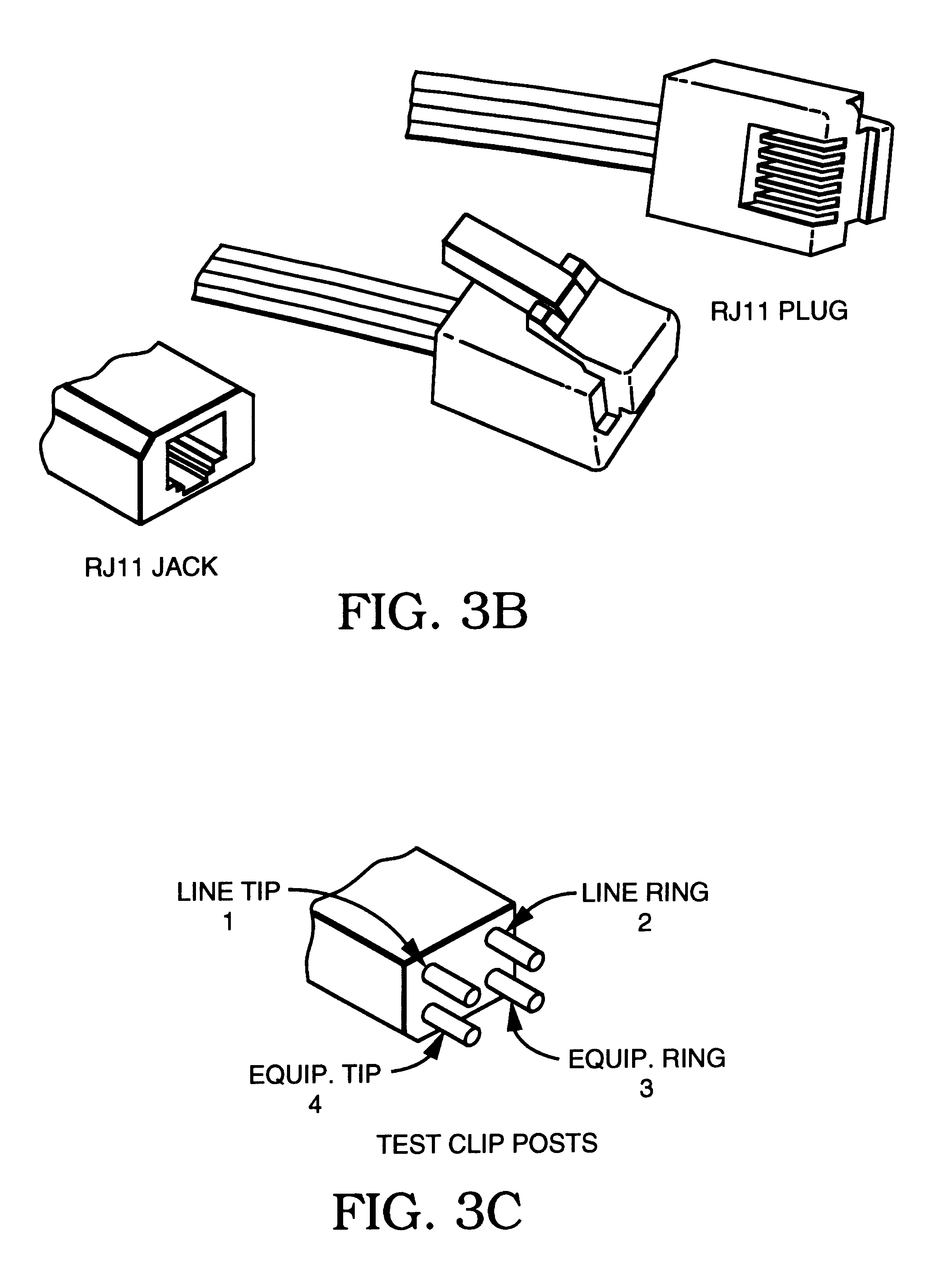 patent us6185083 - protected telecommunication test adapter module