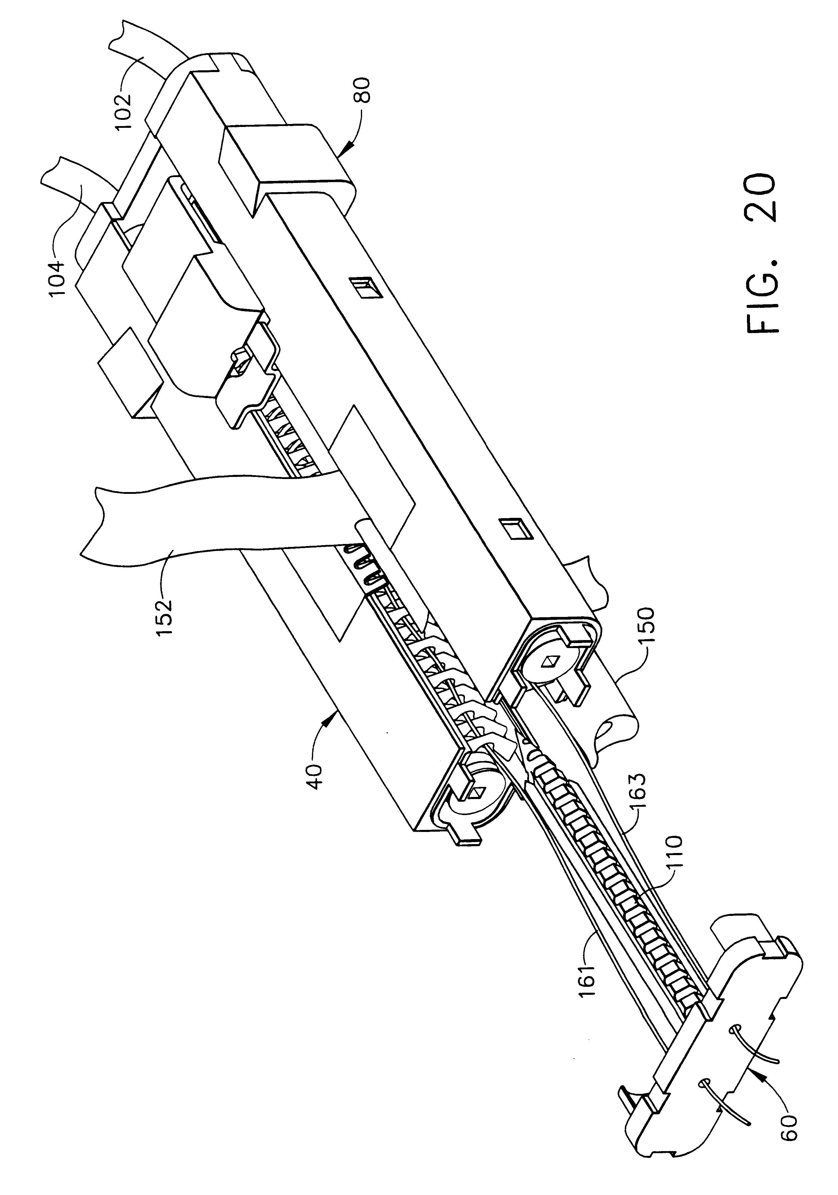 patent us6187019 surgical anastomosis instrument patents  patent drawing