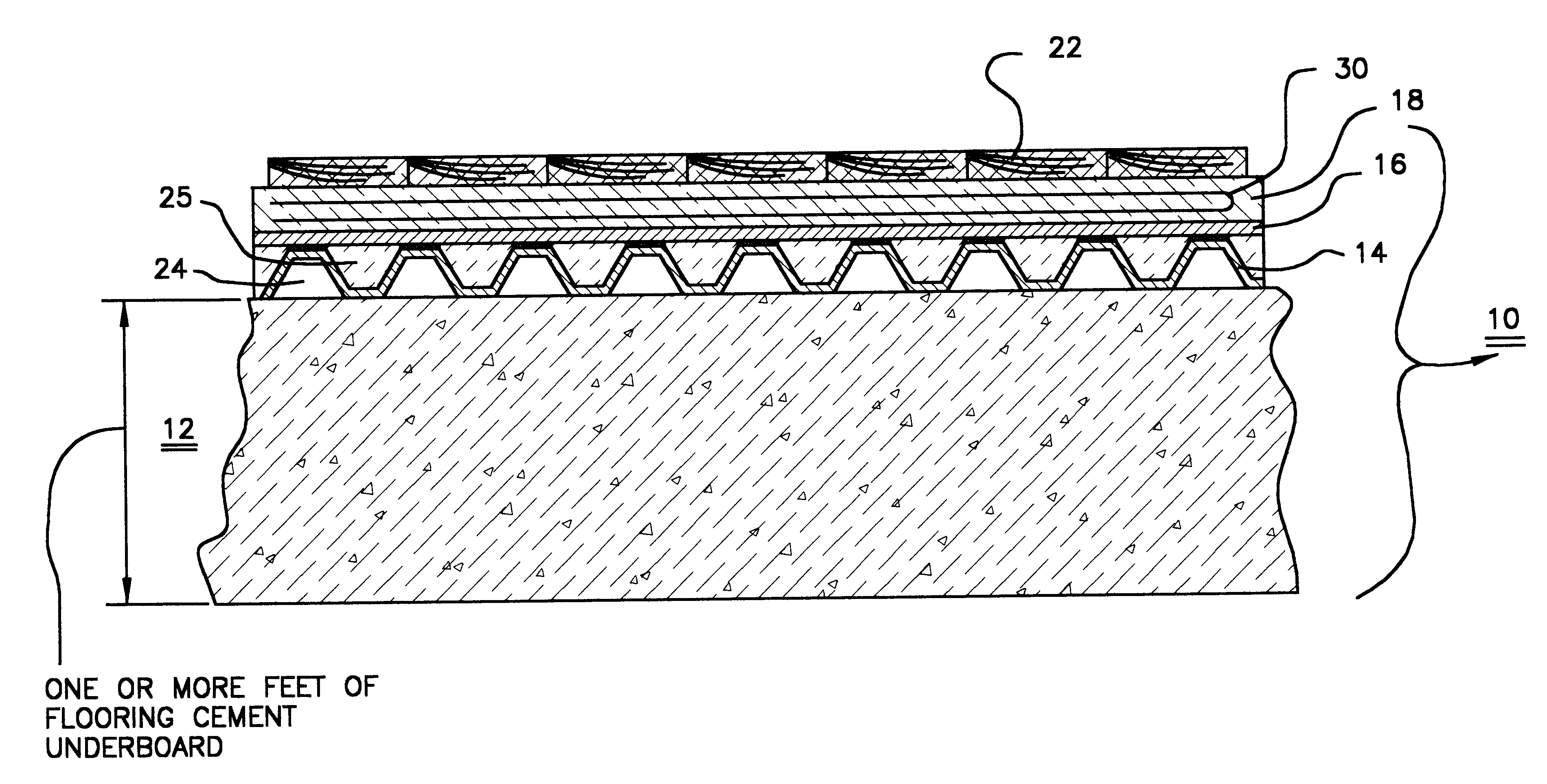 Patent Us6188839 Radiant Floor Heating System With