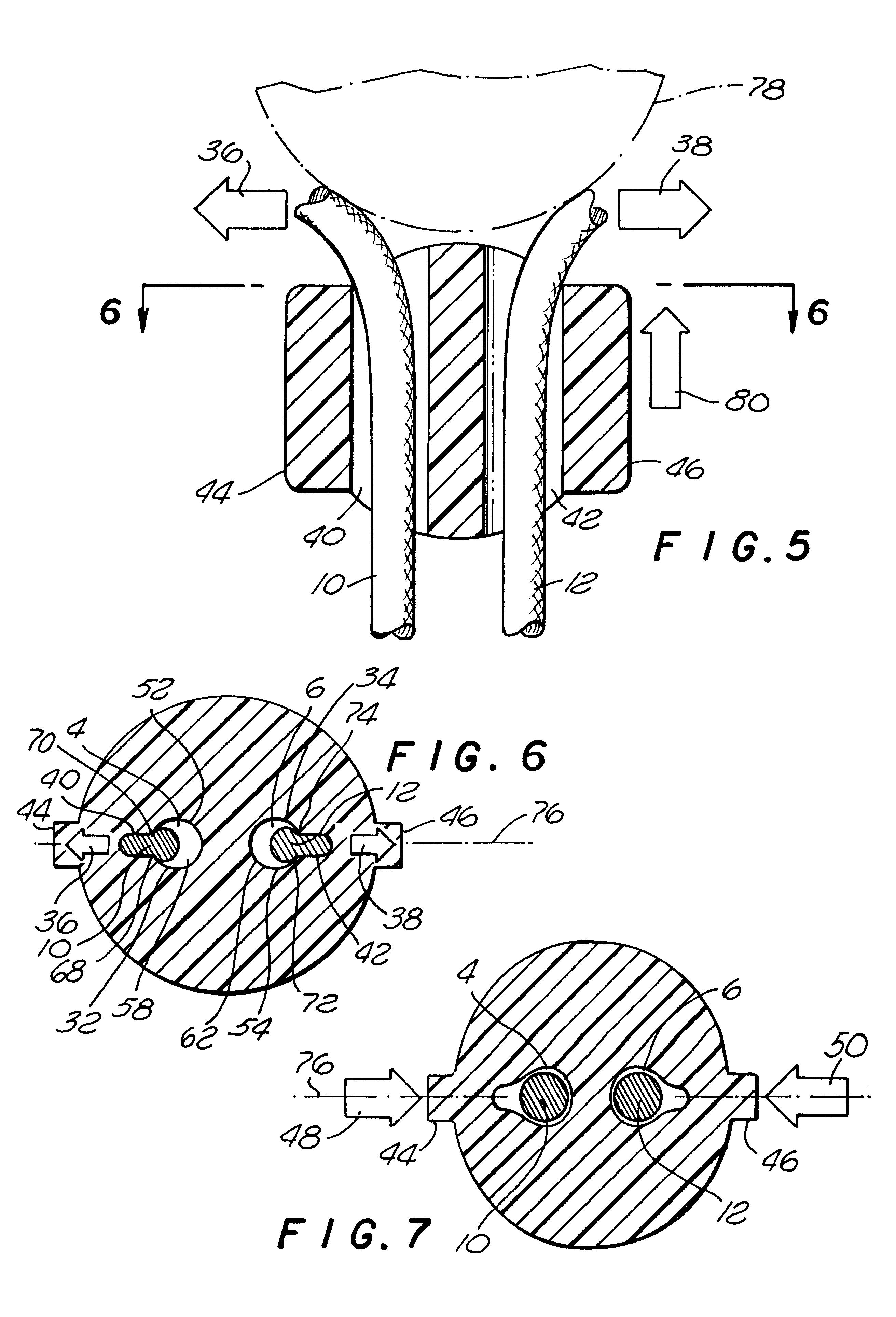 Patent Us6189186 Elastomeric Cord Lock With Dual Cord