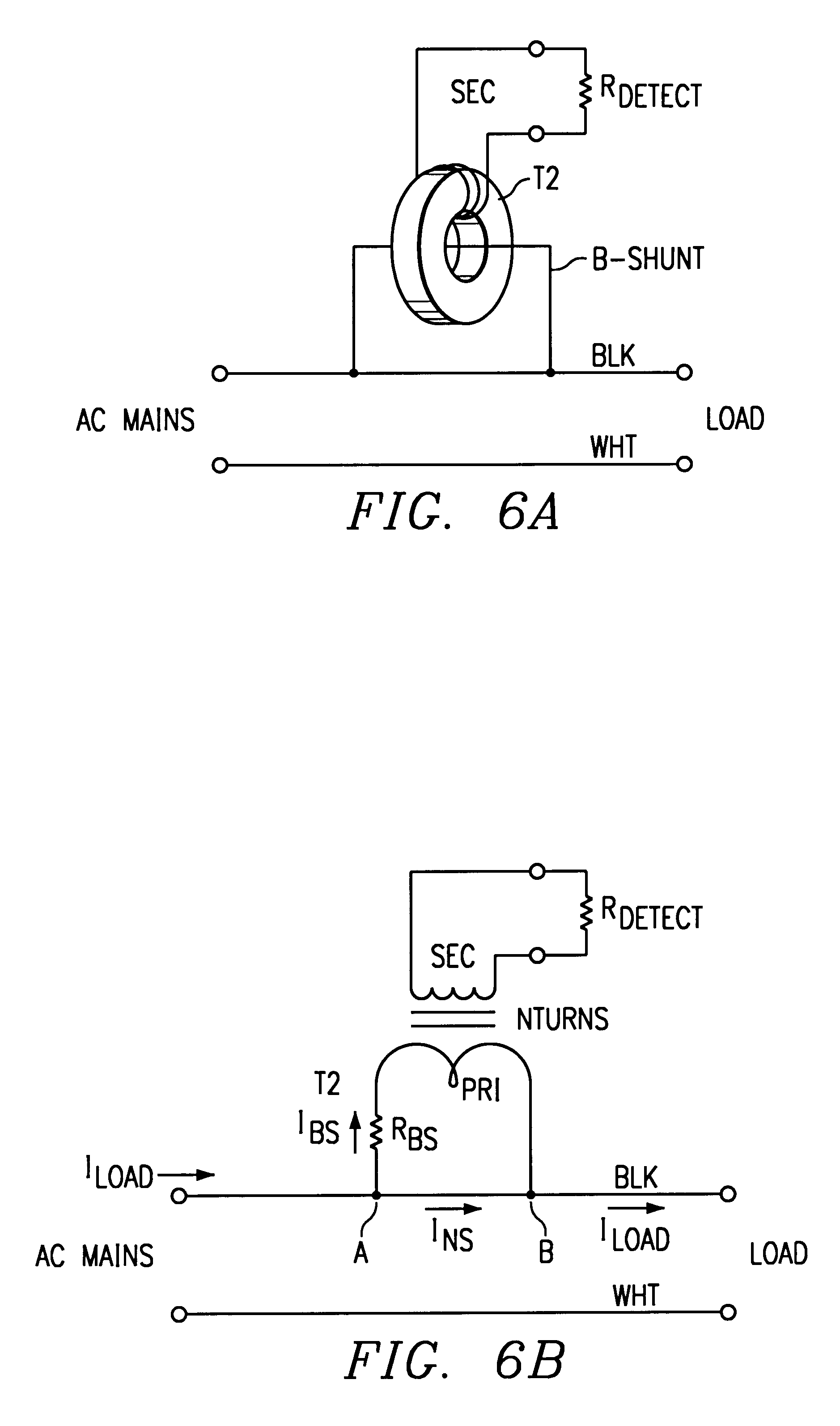 Patent Us6191589 Test Circuit For An Afci Gfci Breaker Arc Fault In Addition Interrupter Afcigfci Images6 Drawing