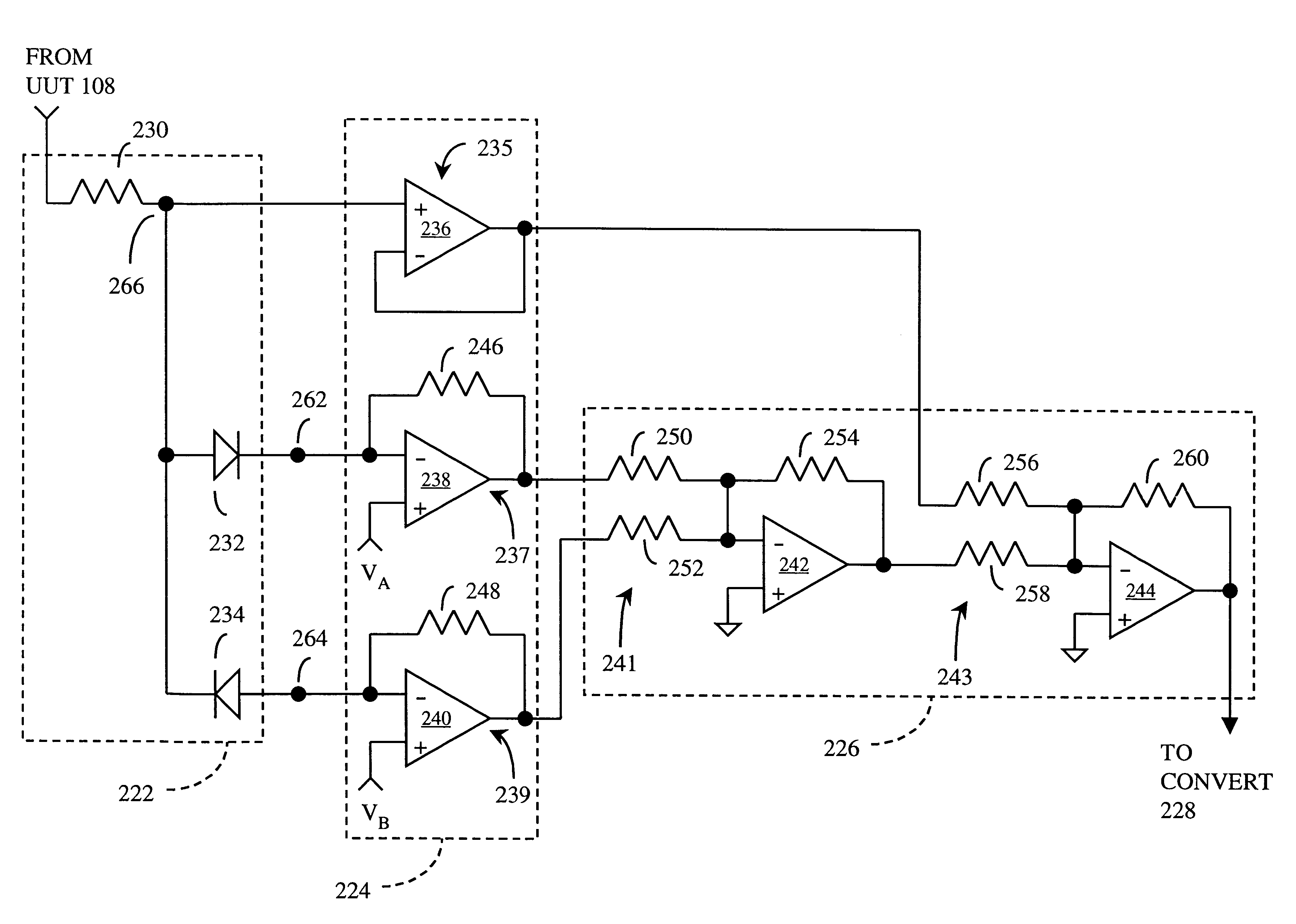 Patent Us6194910 Relayless Voltage Measurement In Automatic Test To Current Converter Op Amp Circuit Drawing