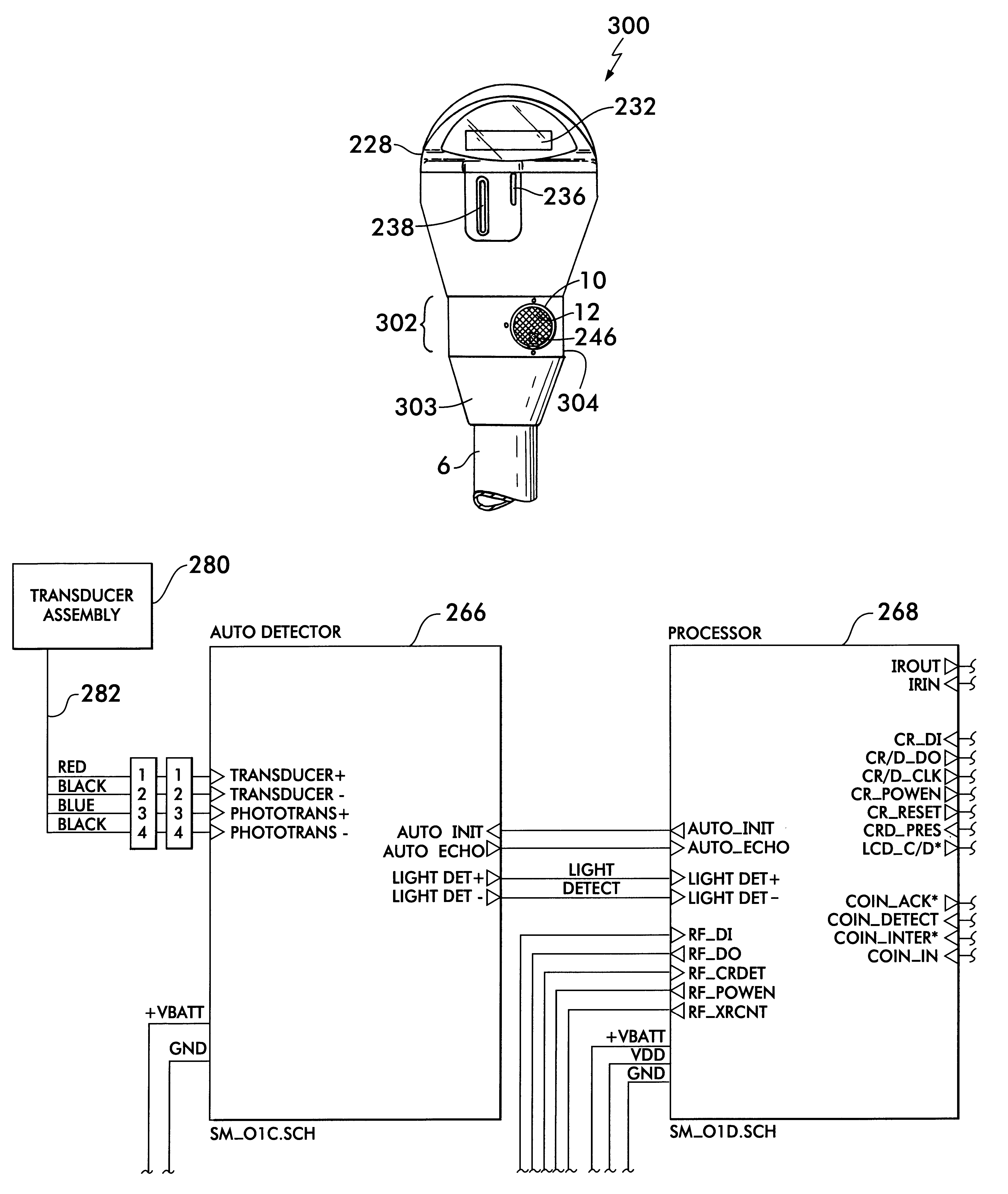 patent us6195015 - electronic parking meter