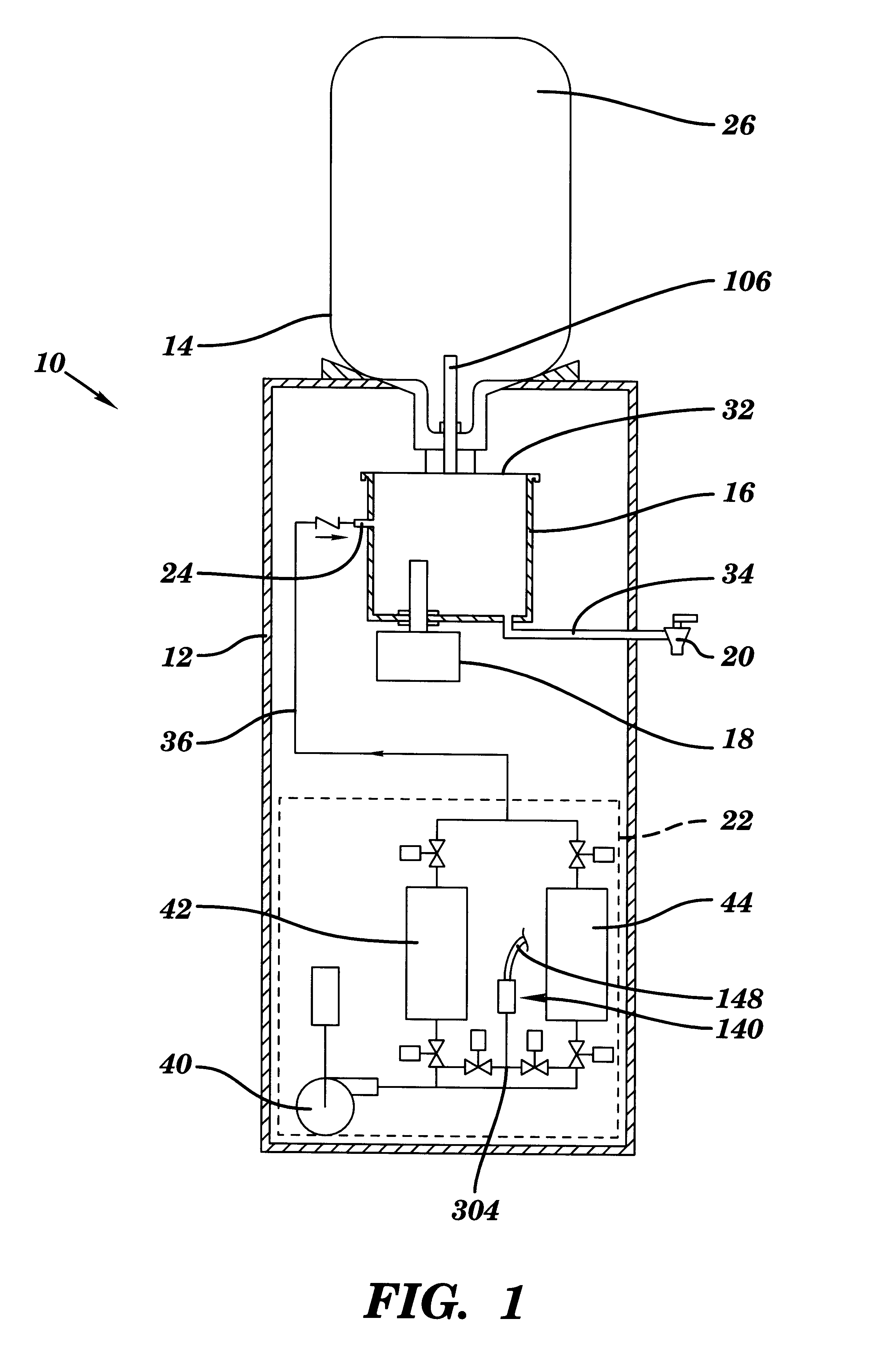 Patent Us6197189 Oxygenated Water Cooler Google Patents