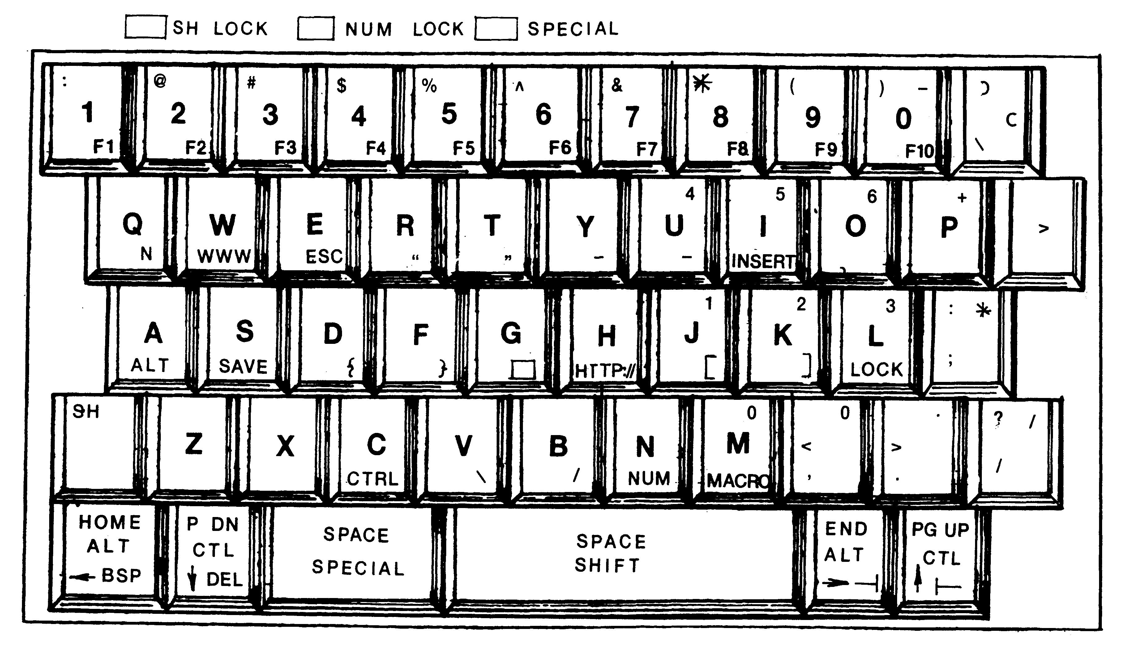 laptop keyboard drawing - photo #13