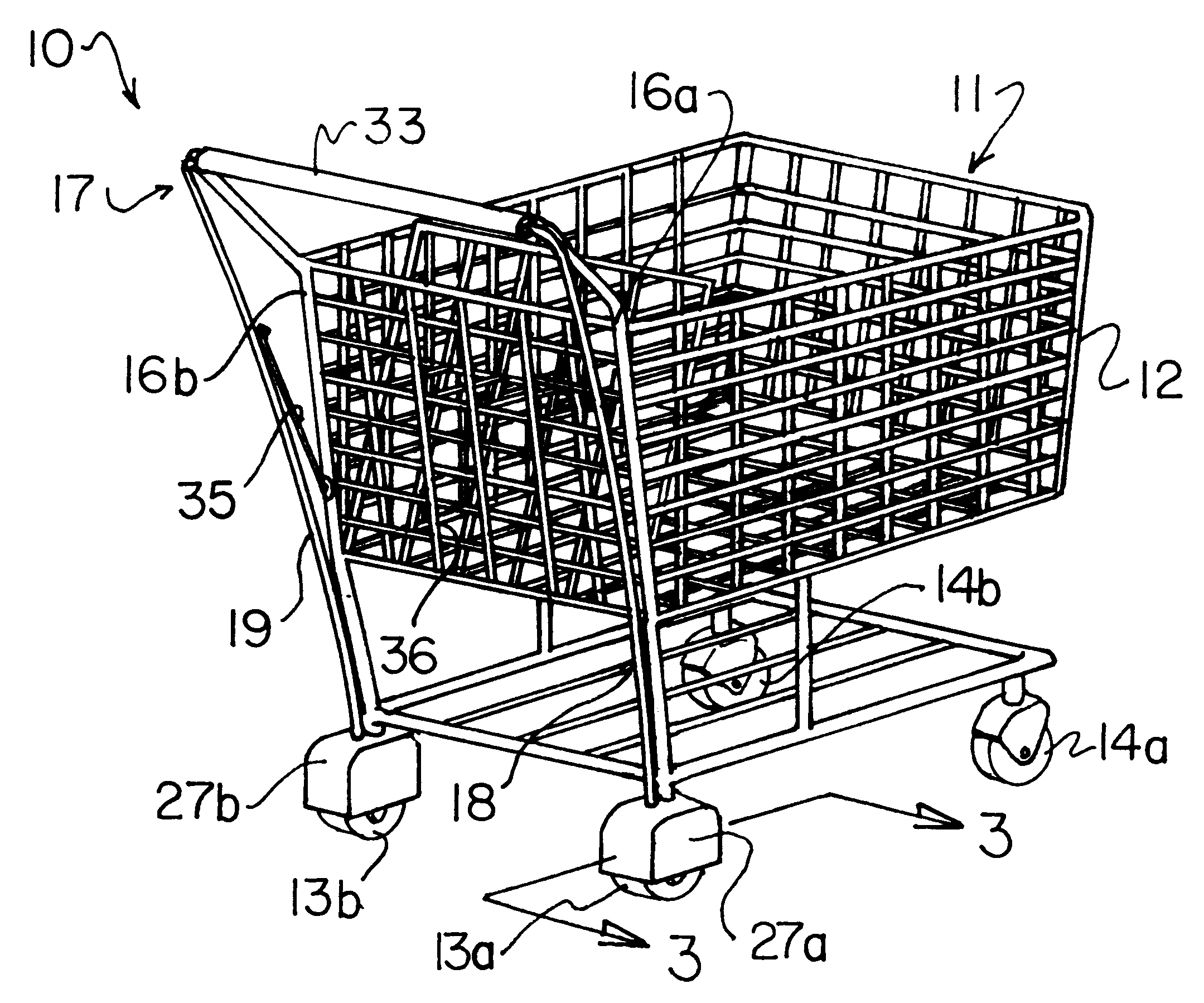 This is a photo of Obsessed Shopping Cart Drawing