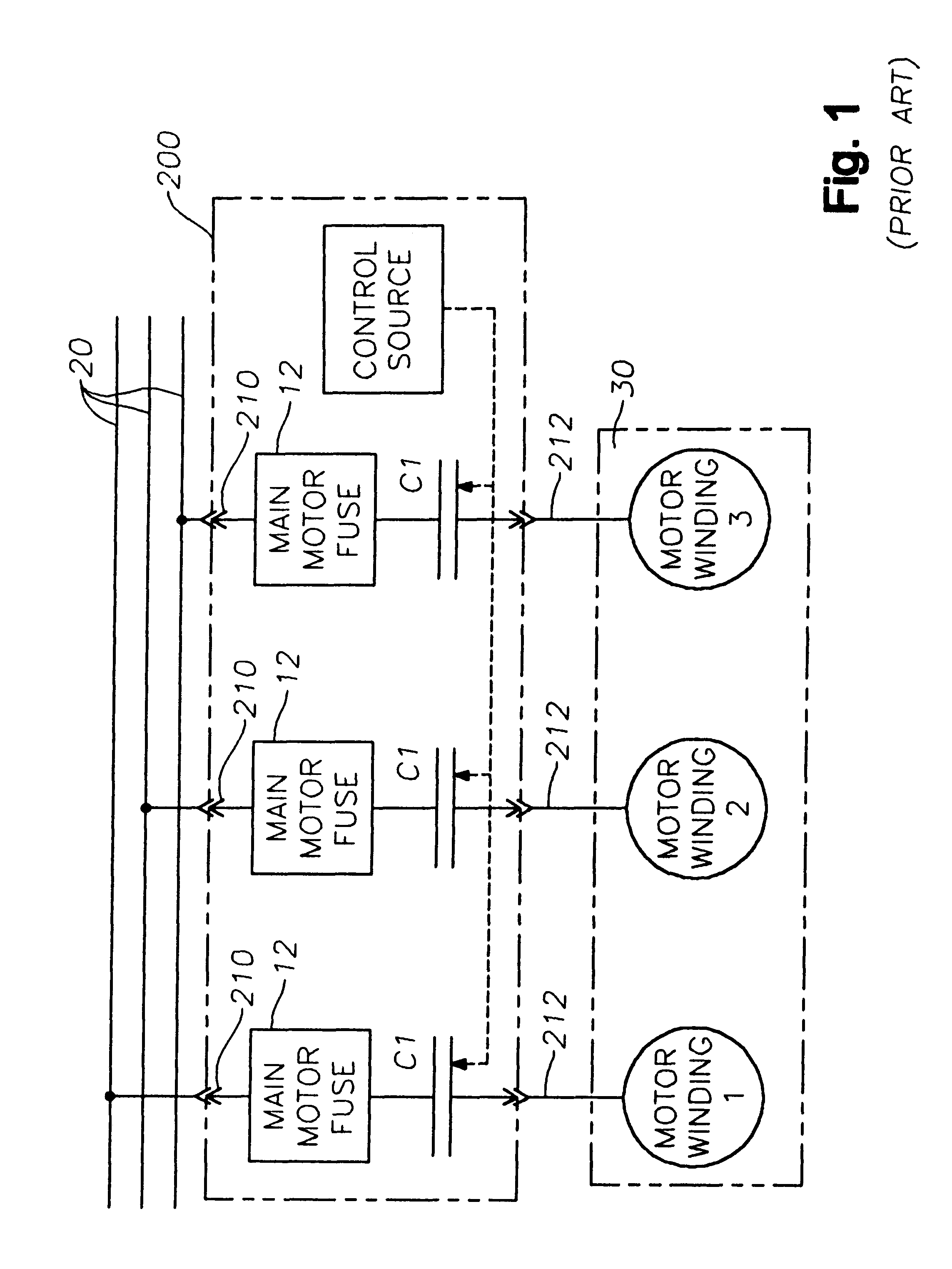 Cutler Hammer Starter Wiring Diagram Motor Control 1000v Patent Us6208111 Arrangement With Soft Start