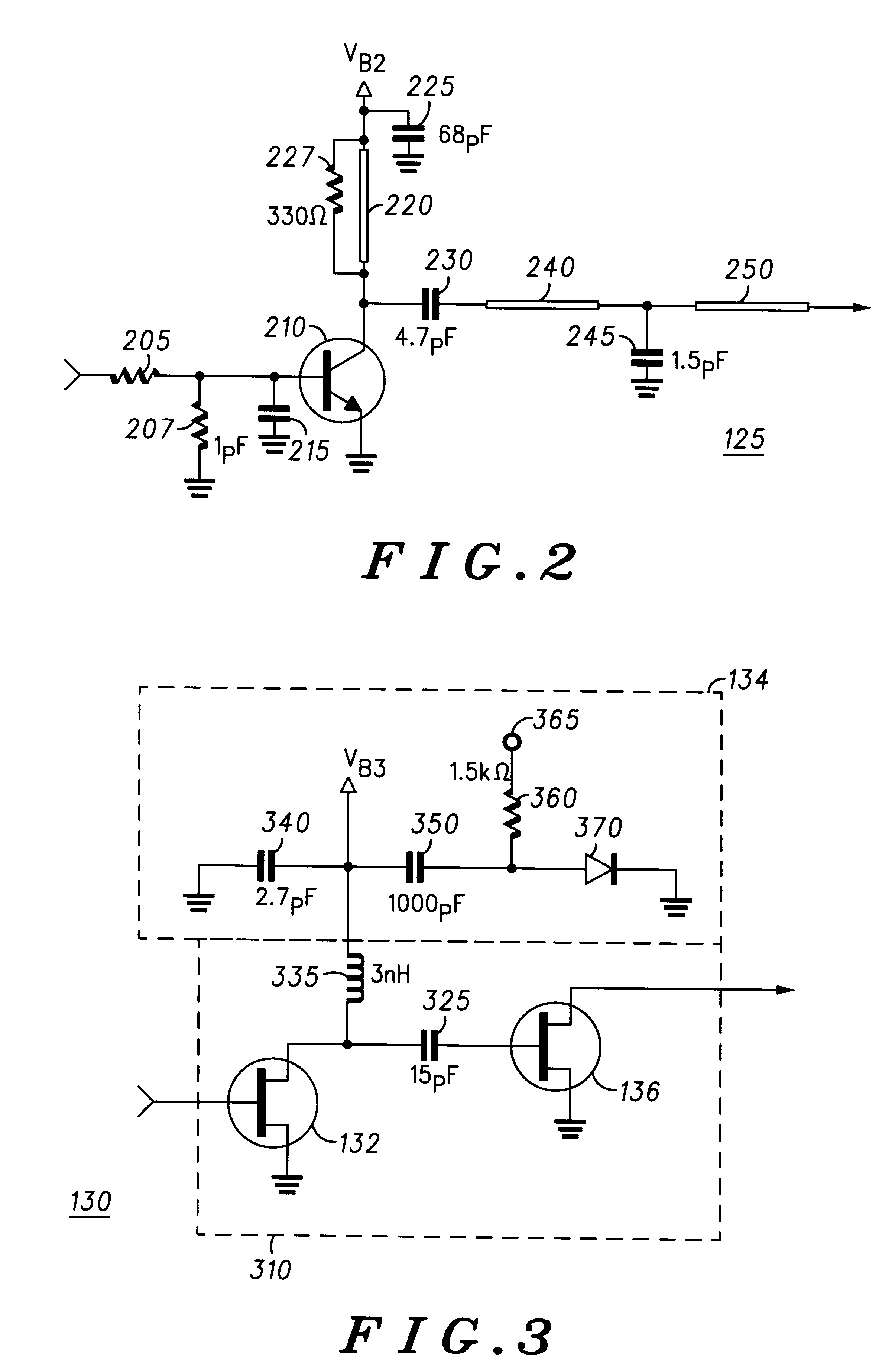 Patent Us6215359 Impedance Matching For A Dual Band Power Frequency Modulationfm Amplifiercircuit Circuit Diagram Drawing