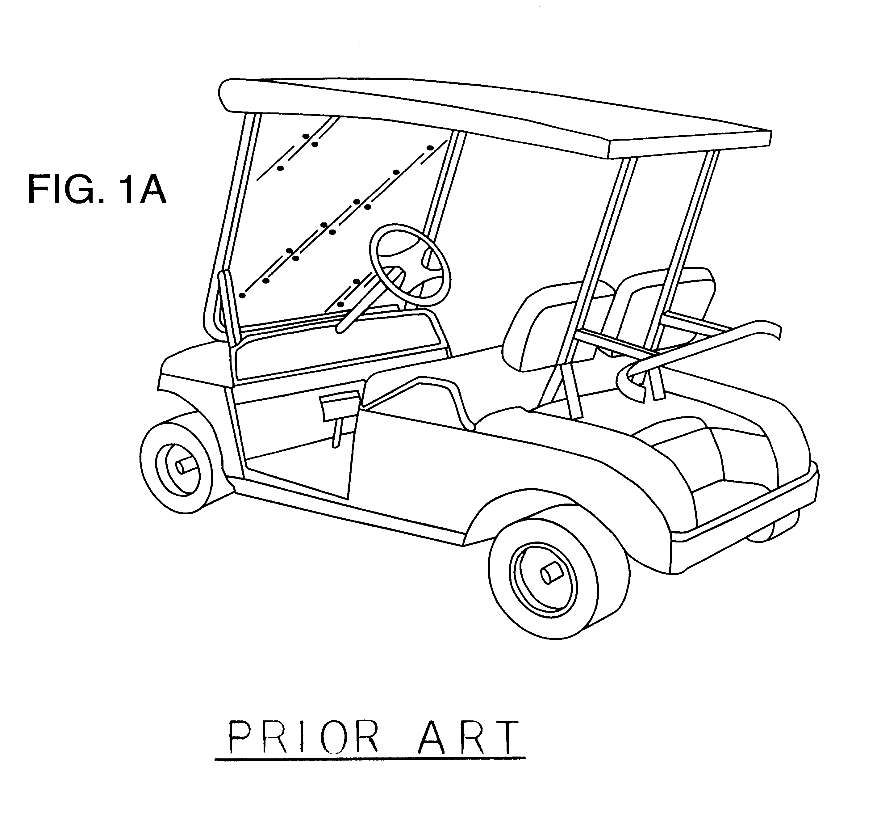 Patent Us6216714 Golf Cart Club Cover Google Patents