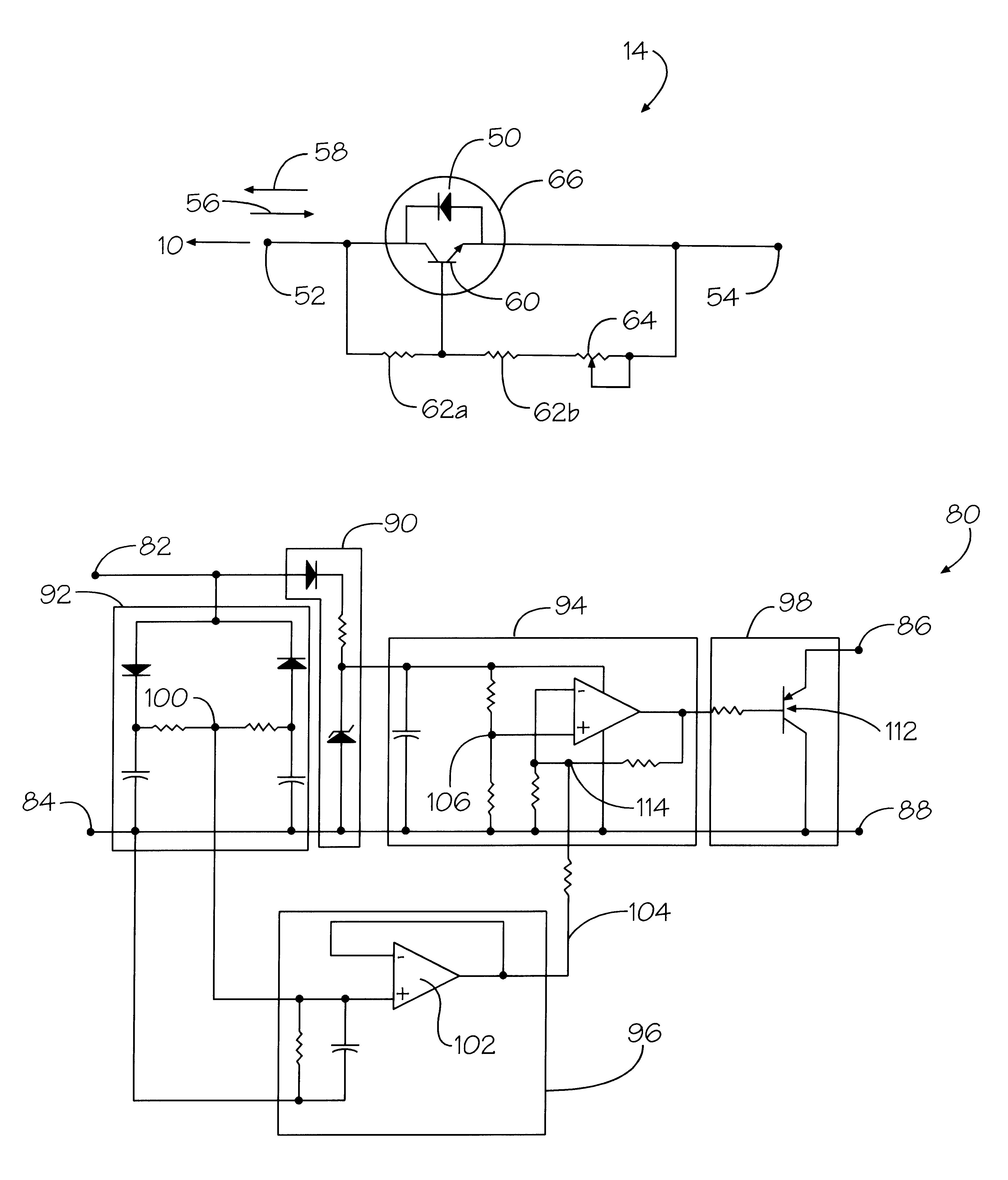 Patent Us6218787 Remote Dimming Control System For A Fluorescent T96 Ballast 120 Volt Wiring Diagram Drawing