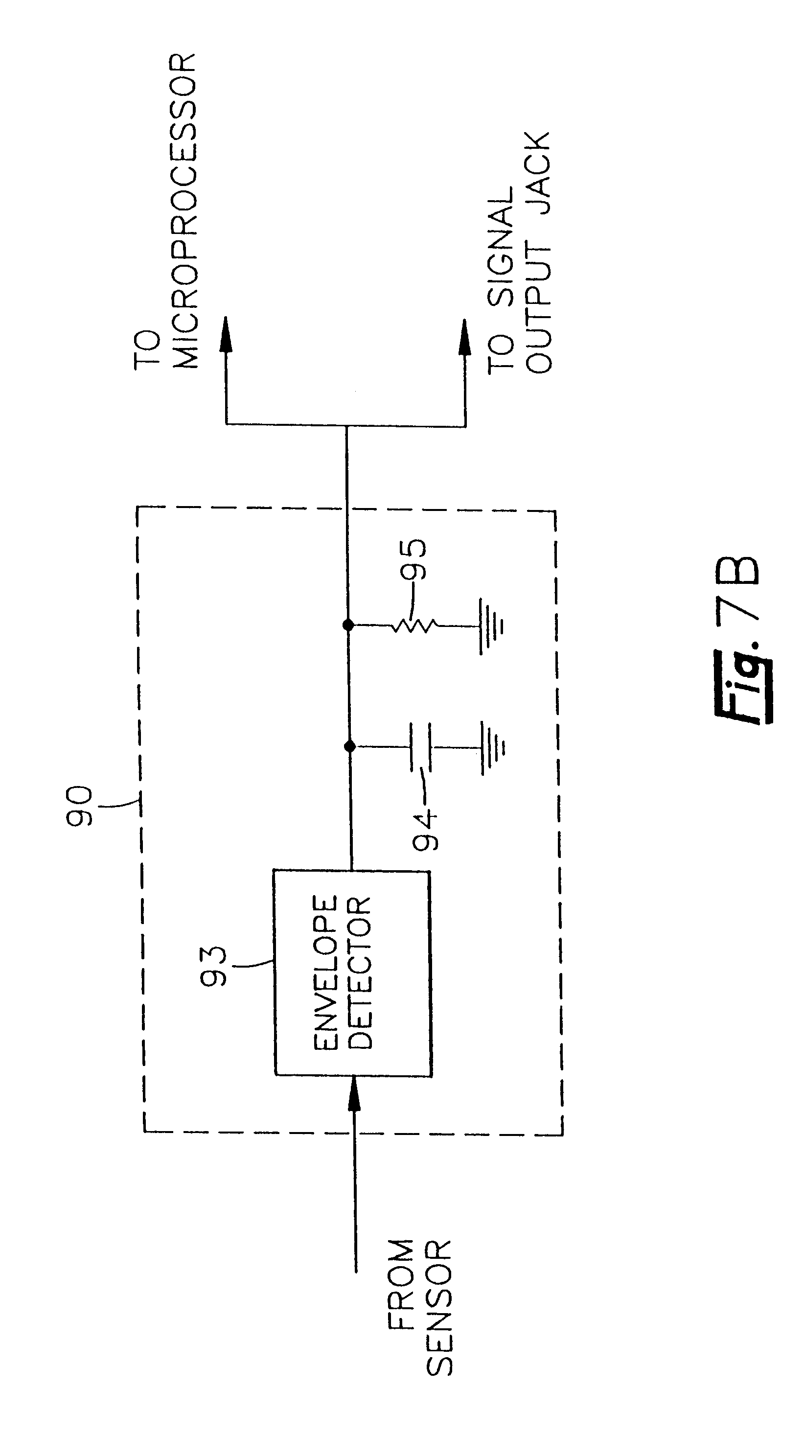Patent Us6220098 Multiple Sensor Ultrasonic Monitoring Device Functional Block Diagram Of A Typical Level Transmitter Drawing