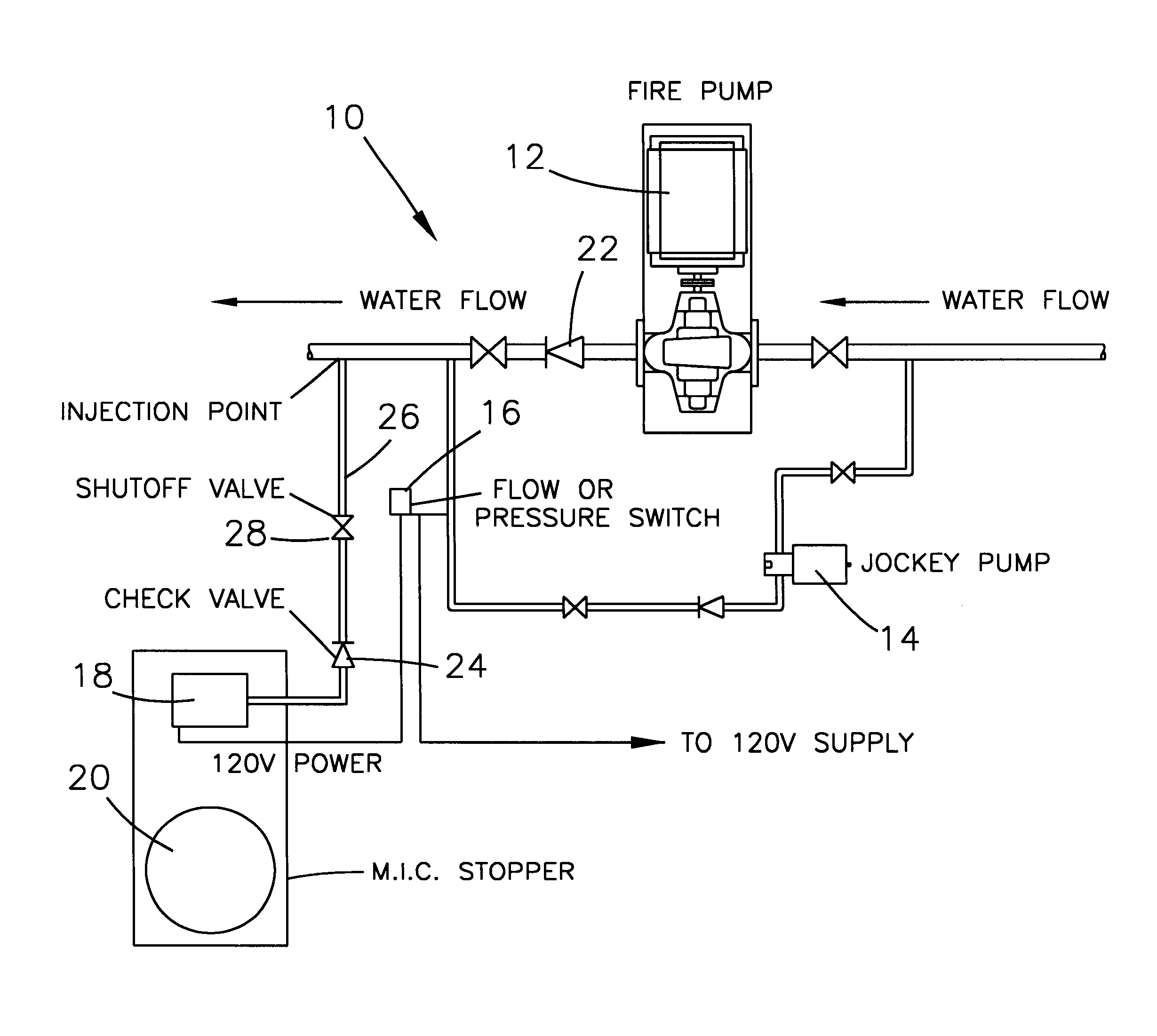 US06221263 20010424 D00000 fire pump piping diagram water heater piping diagram \u2022 wiring  at bakdesigns.co
