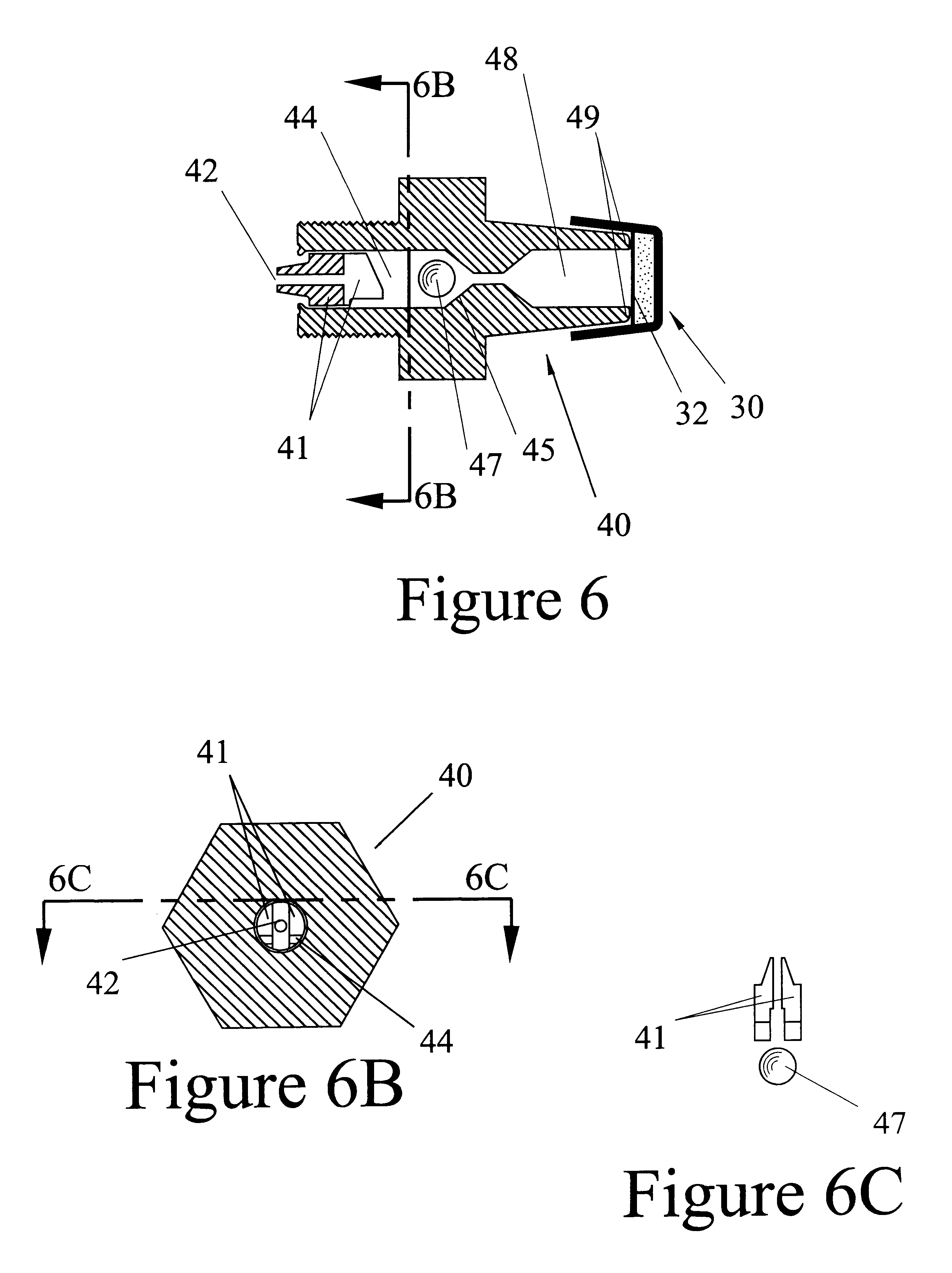 Patent US6226916 - Back-flash check for muzzleloaders - Google Patents