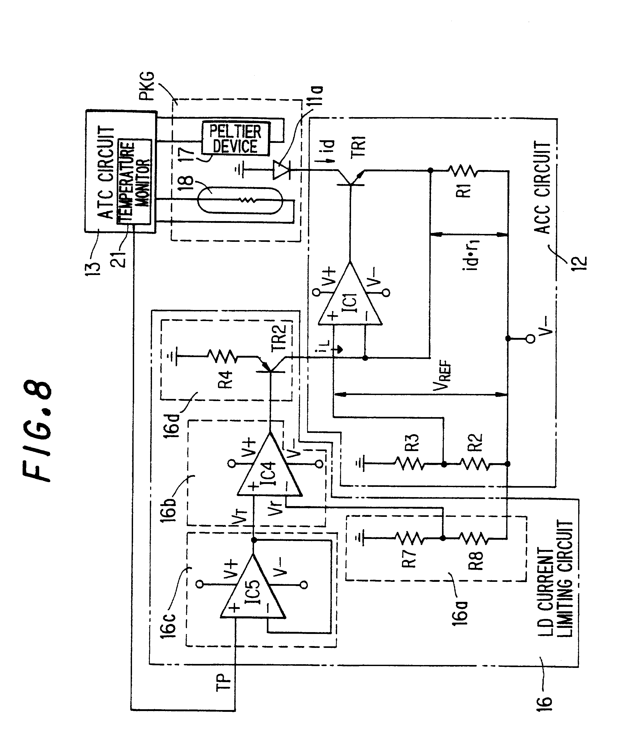 Laser Current Control Circuit Best Electrical Wiring Diagram Example Wld3343 In Constant Mode With A Type Patent Us6229833 Diode Protecting And Vicor