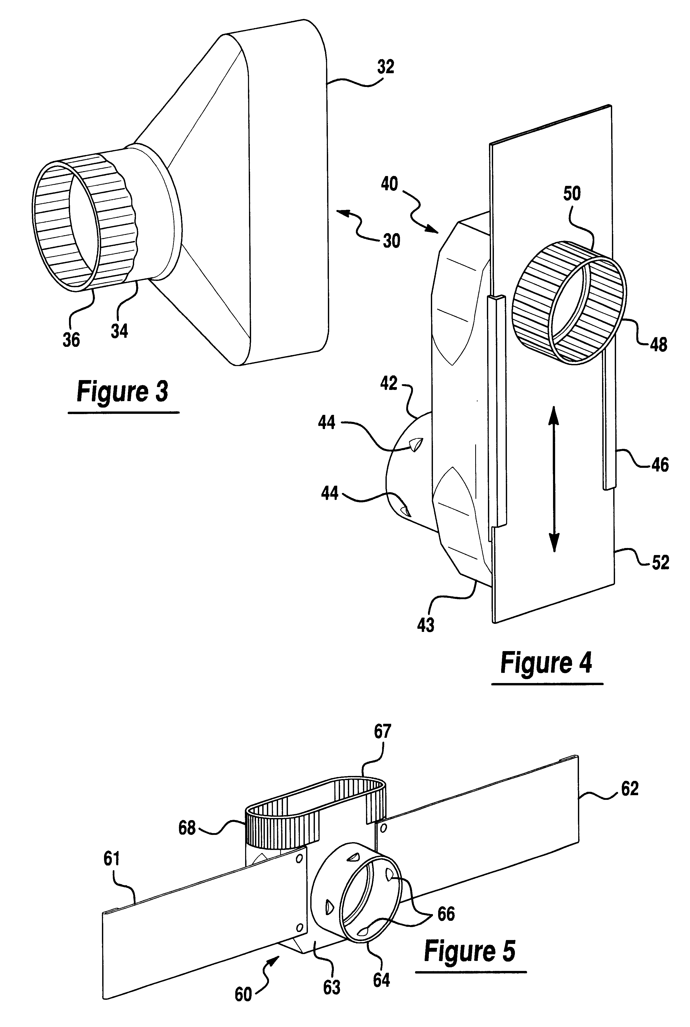patent us6230418 - low profile dryer exhaust vent system