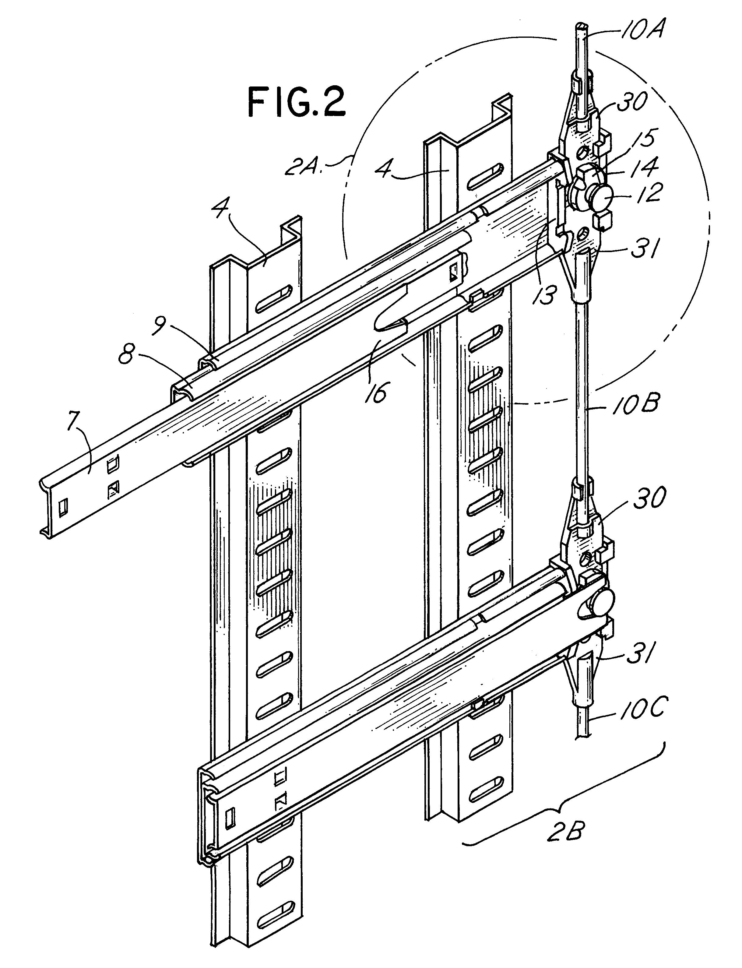 cabinet door diagram patent us6238024 - linkage member for an anti-tip ...