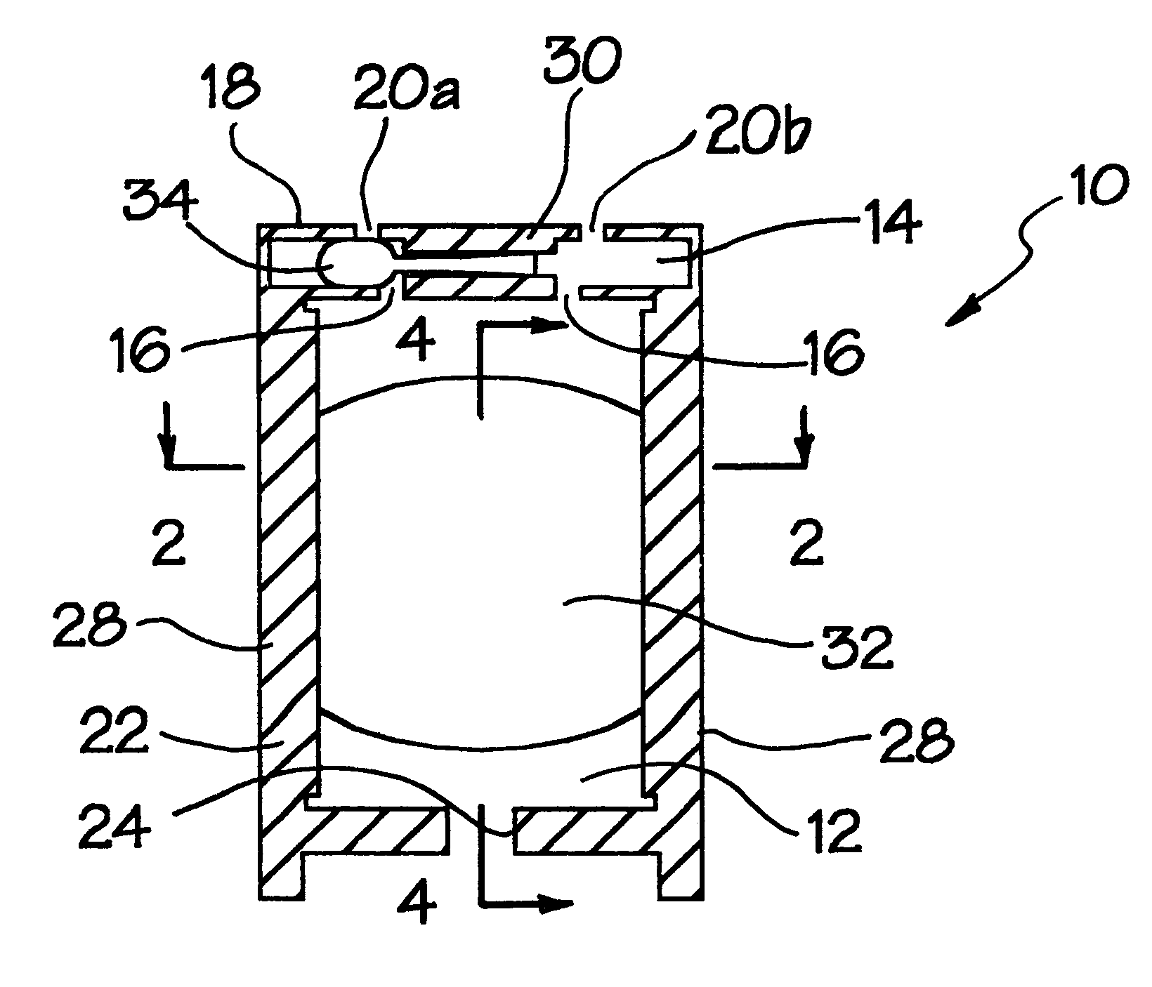 Patent US6241480 - Micro-magnetohydrodynamic pump and method for