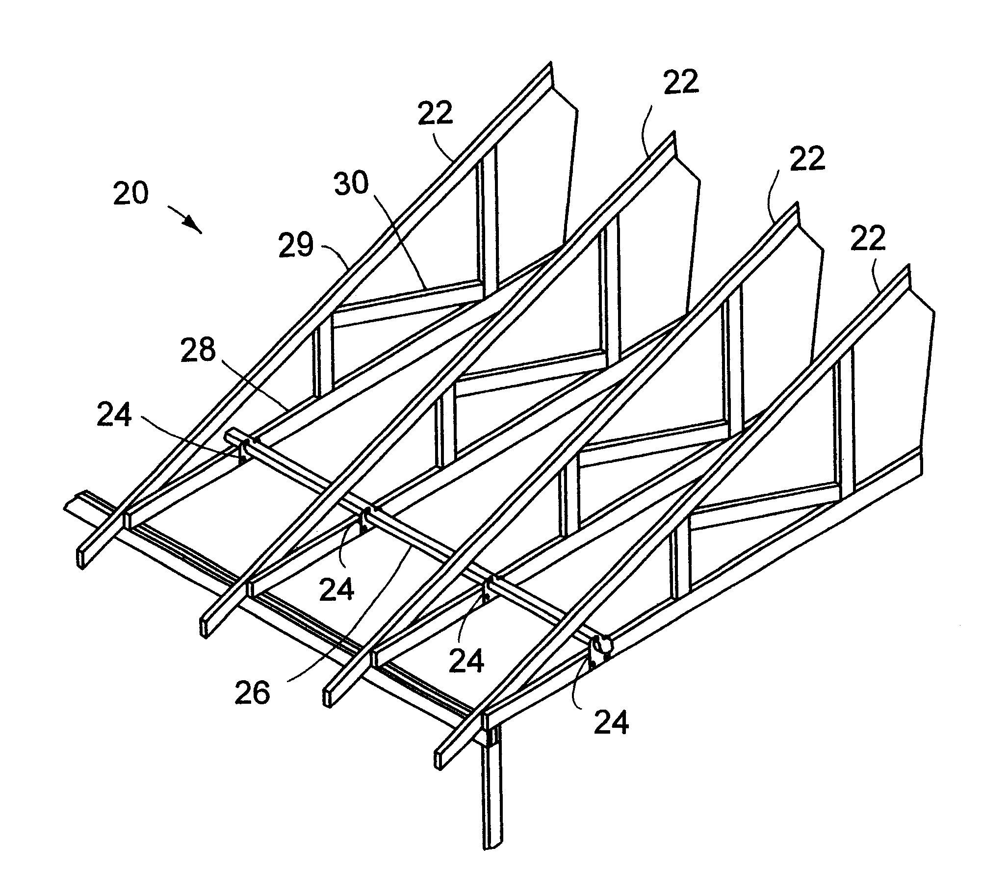 Patent Us6244010 Snap In Lateral Truss Brace Google