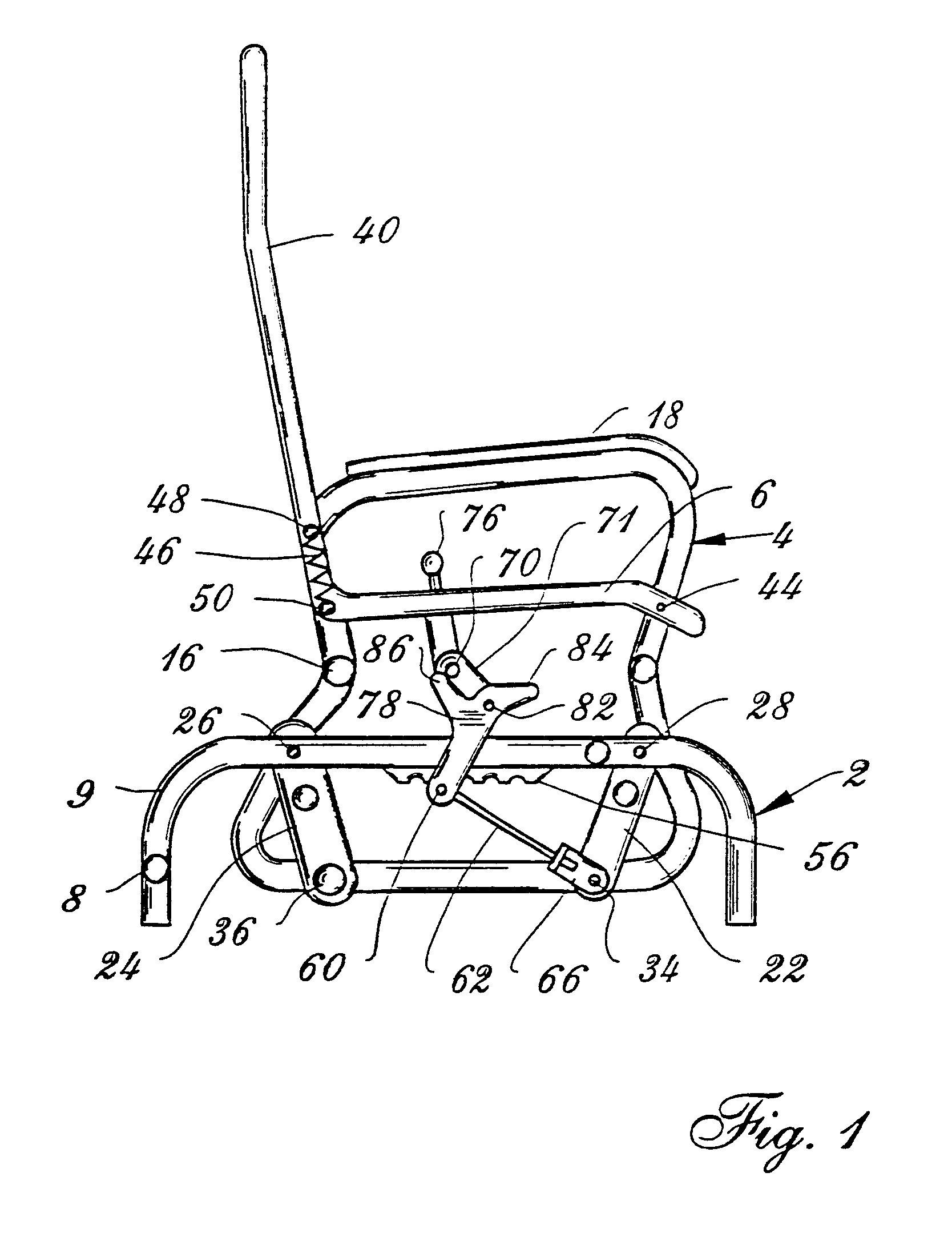 Patent Us6244658 Rocking Chair With Automatic